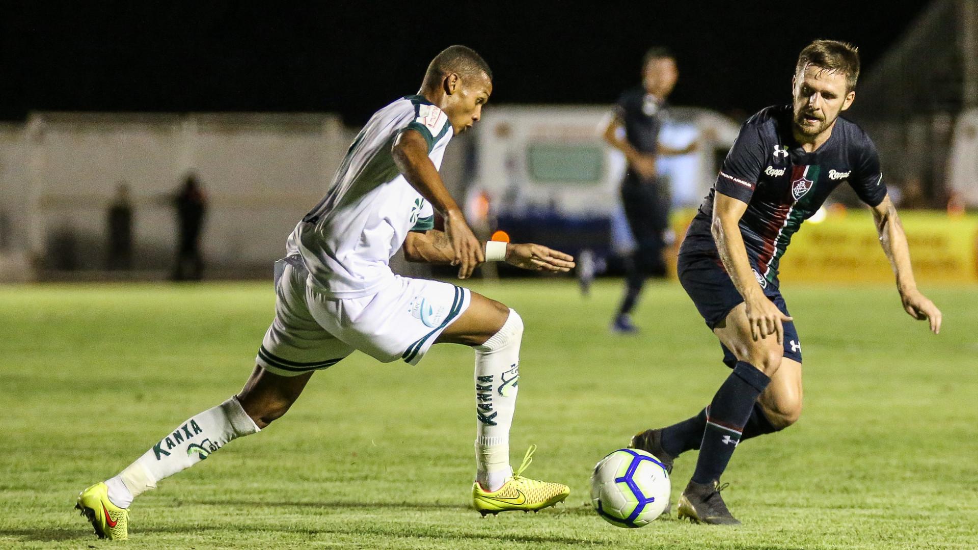 Flu não sai do zero com o Luverdense pela Copa do Brasil