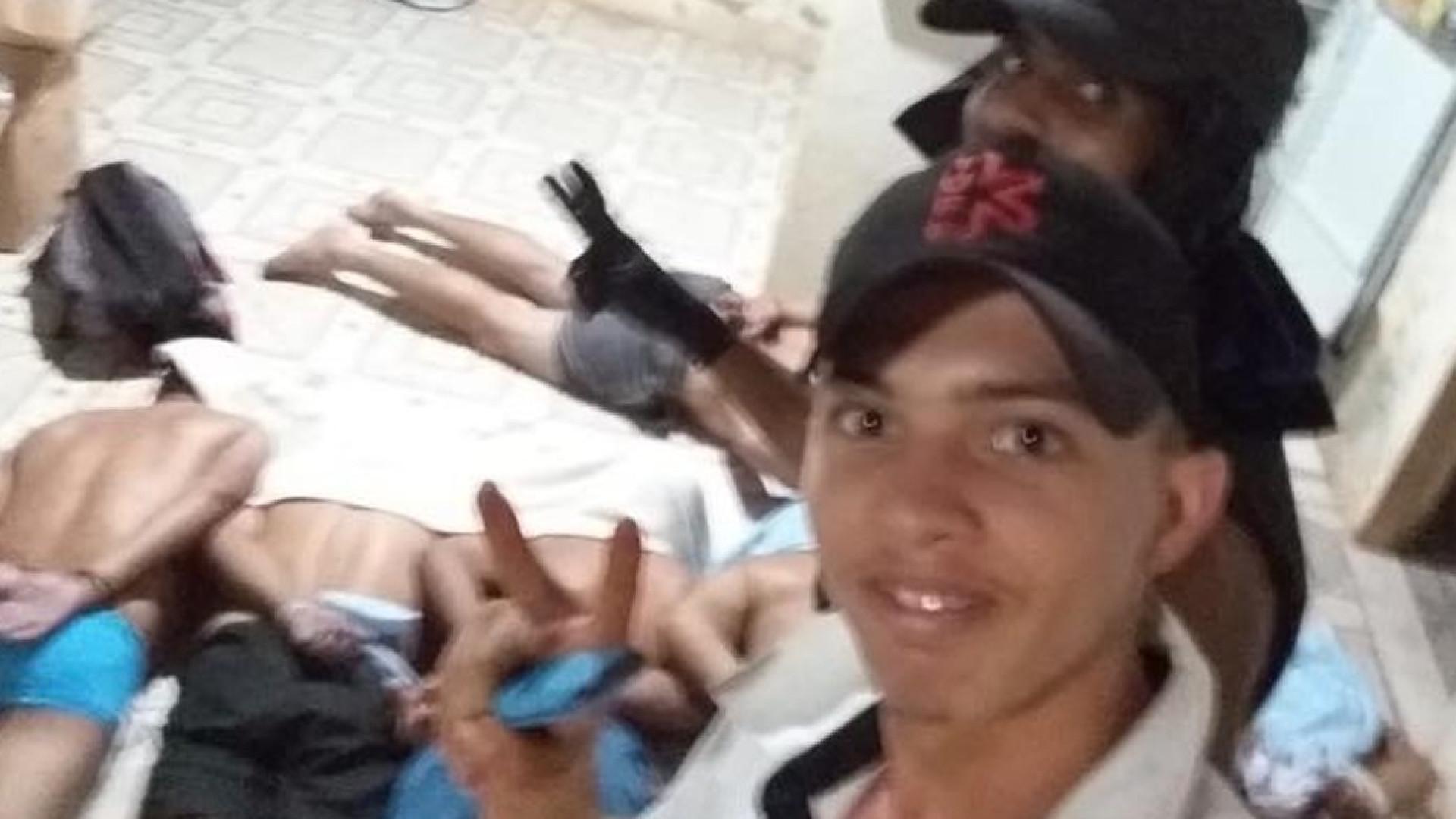 Suspeito que tirou selfie com vítimas amarradas durante roubo é preso