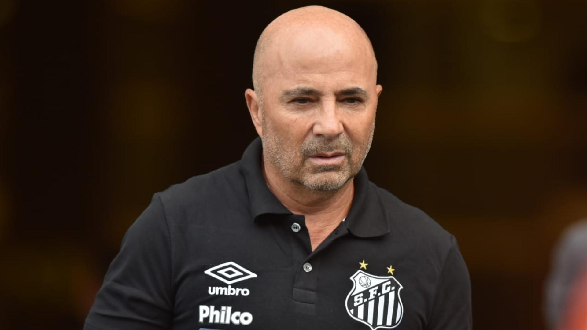 Sampaoli admite erro ao dar poucas chances ao atacante Sasha no Santos