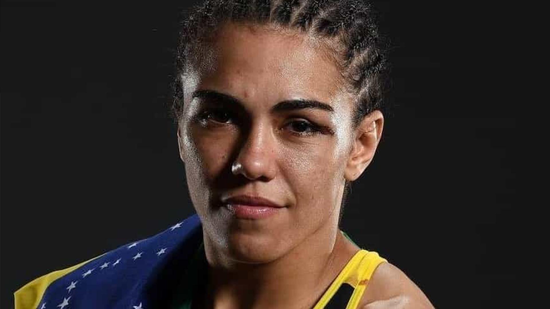 Lutadora da UFC assaltada no Rio de Janeiro