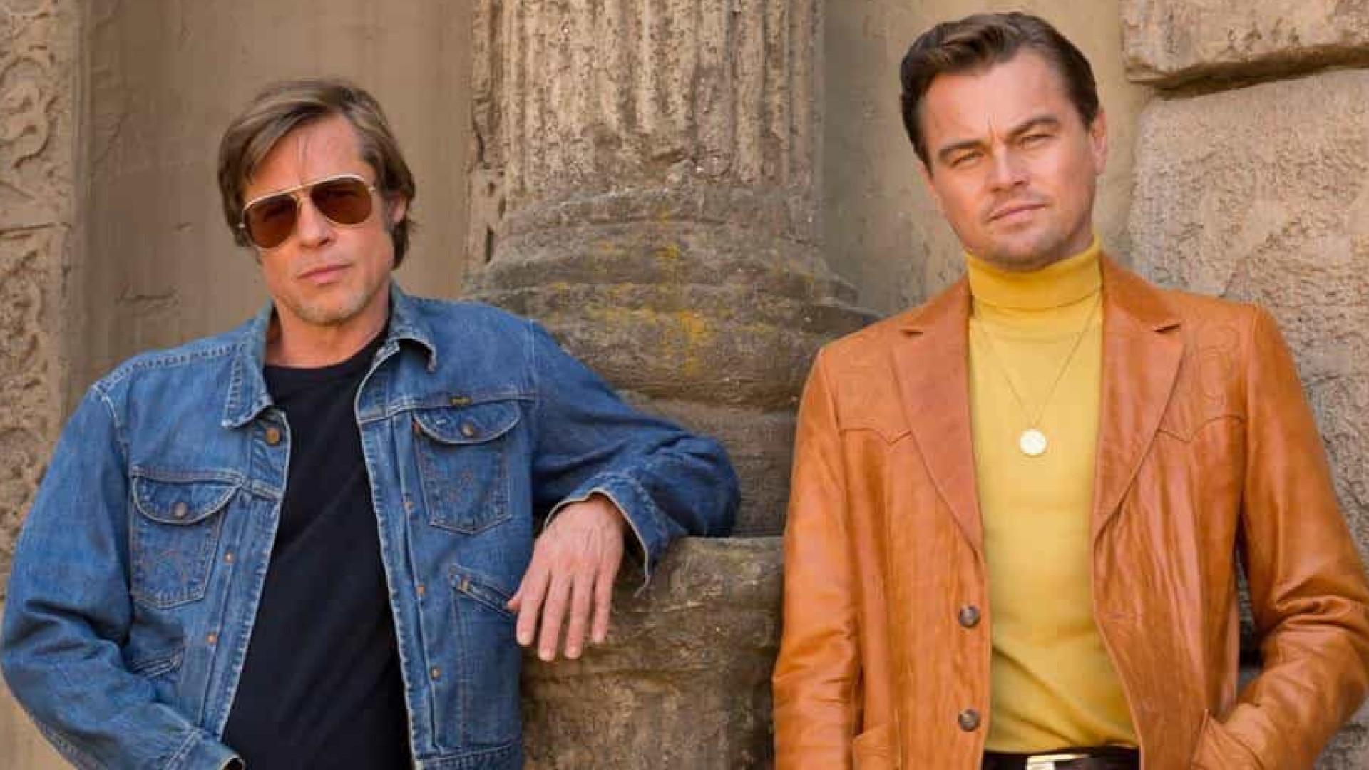 Ao lado de DiCaprio, Brad Pitt diz que se negou a atuar em 'Titanic'
