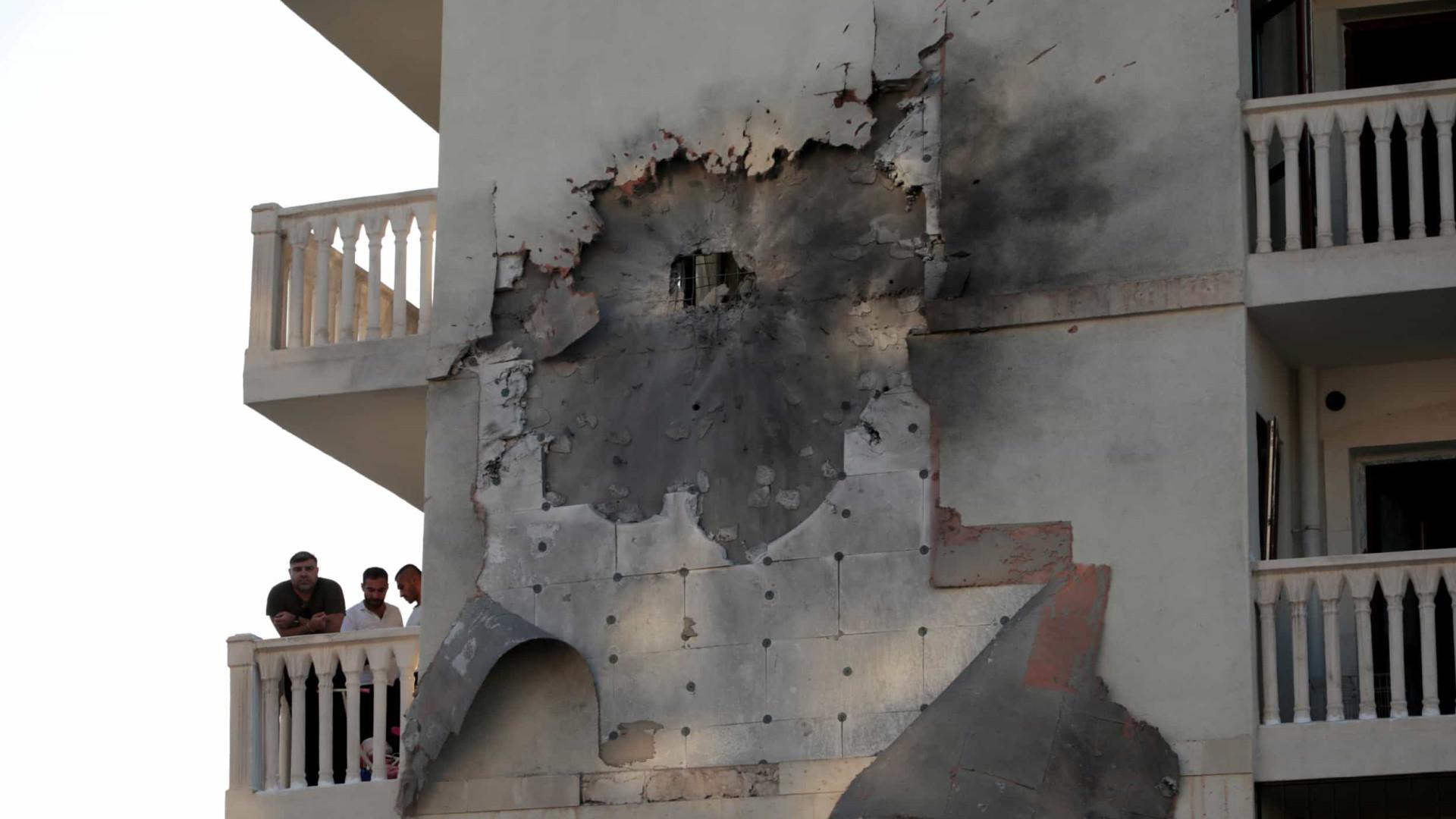 Ofensiva turca deixa sete civis mortos no norte da Síria