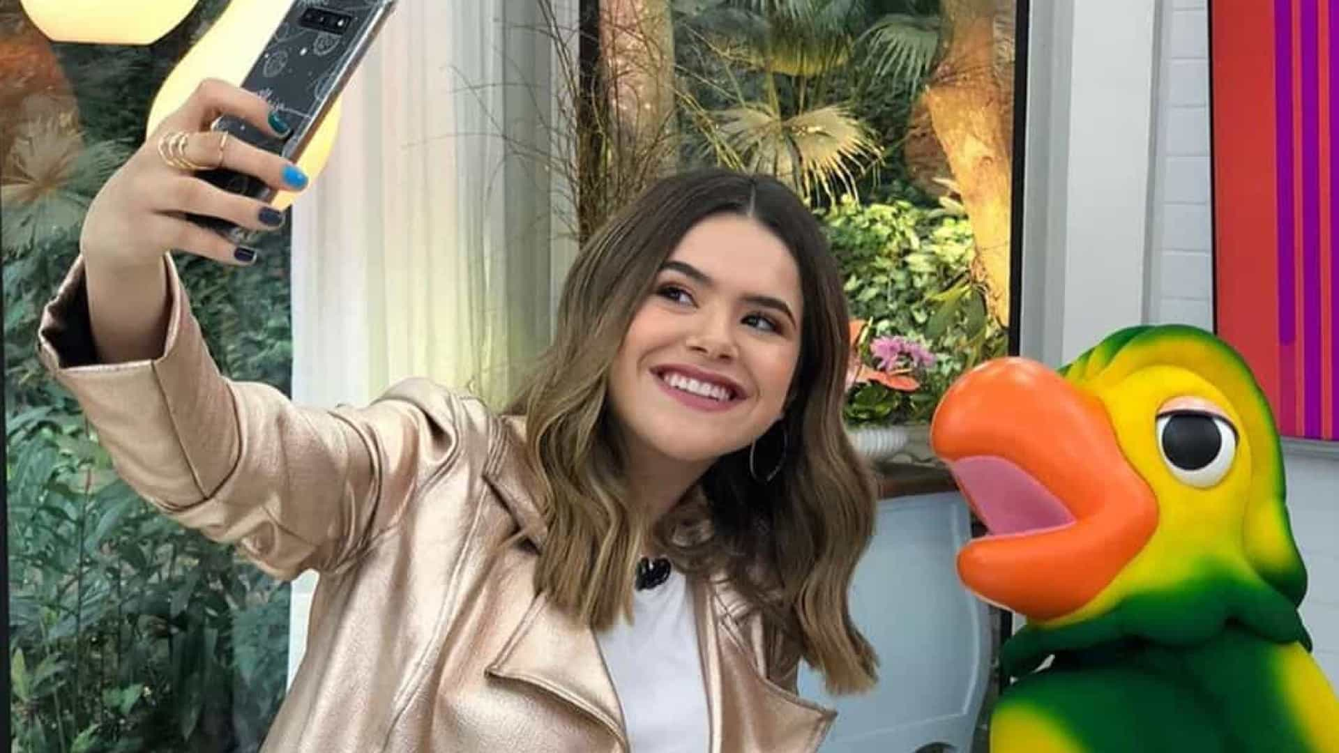 Maisa do SBT participa de programa da Globo