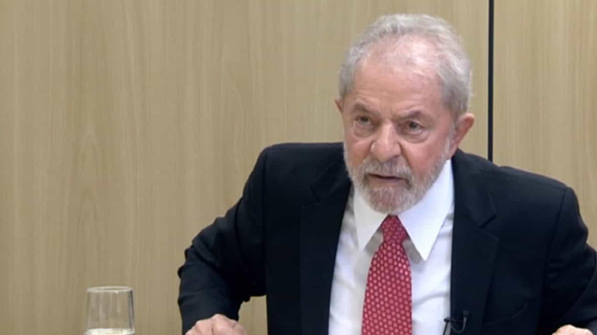 """""""Eu quero provar que Moro é o bandido, não eu"""", diz Lula à RTP"""