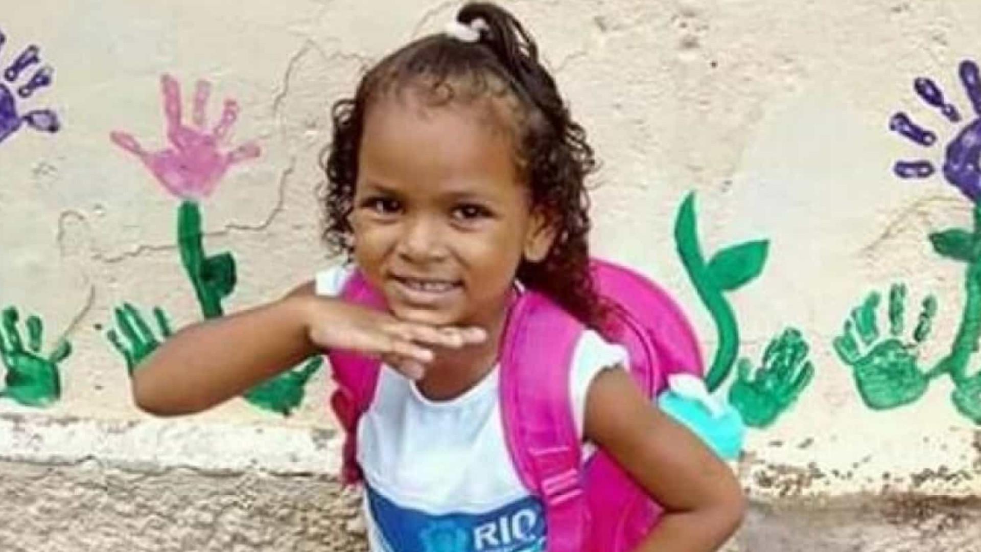 Polícia prende suspeito da morte de menina de cinco anos