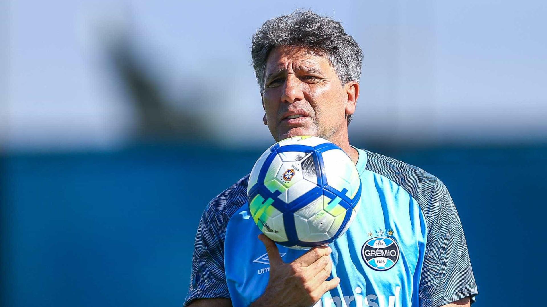 Renato Gaúcho reconhece má atuação, mas comemora Grêmio no G-4