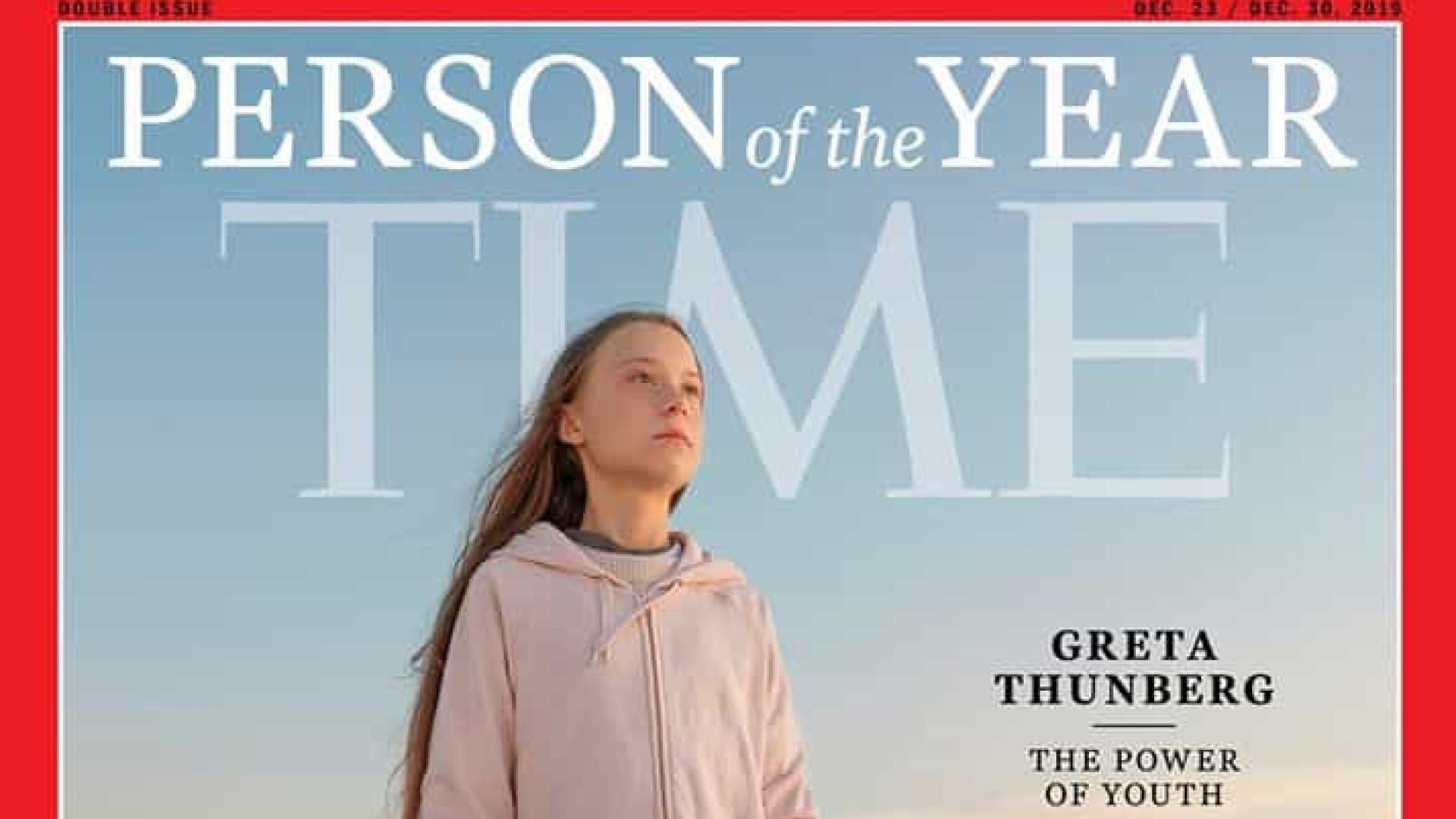 Greta Thunberg é a Personalidade do Ano para a revista Time