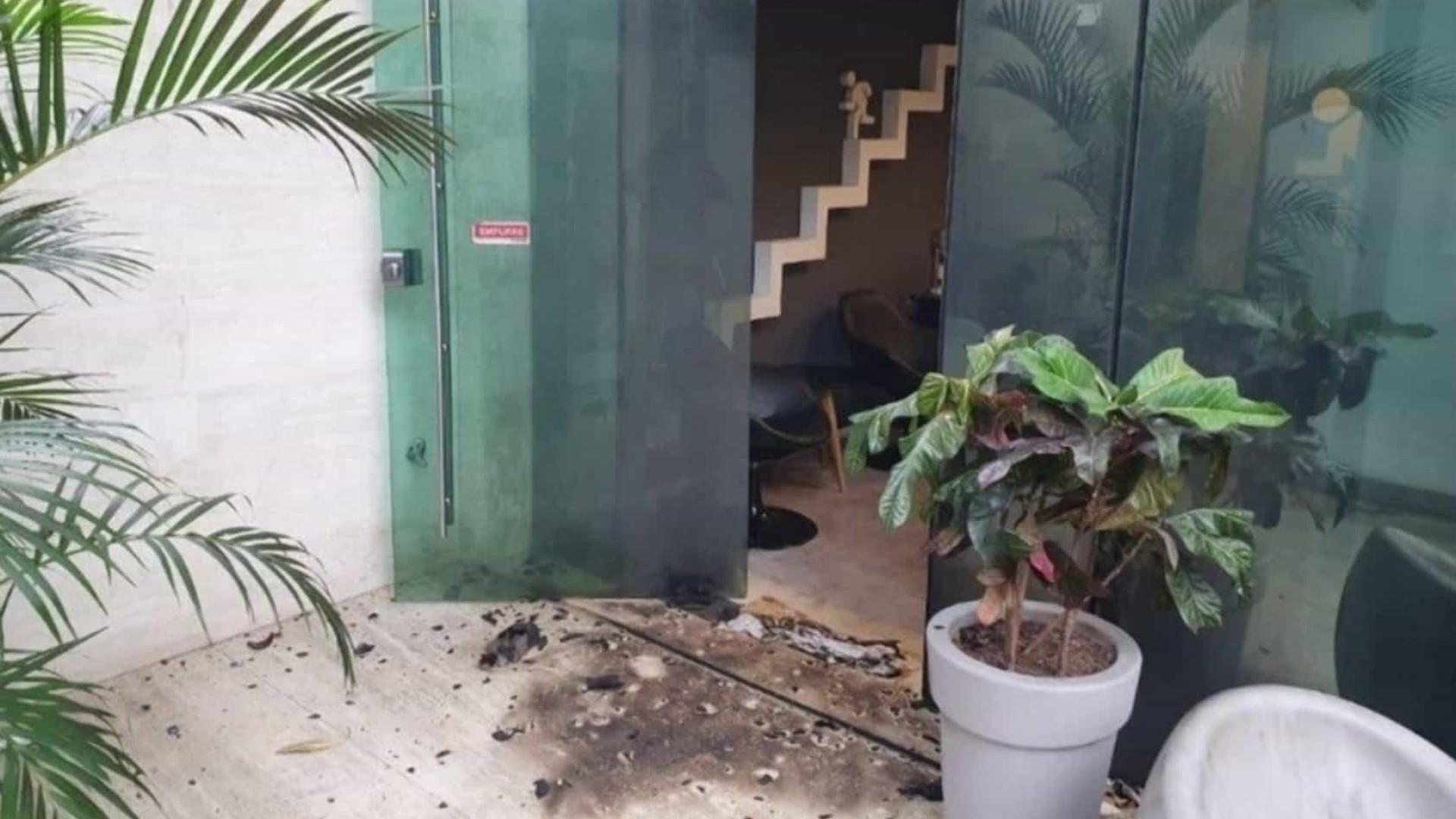 Polícia recebe imagem de atentado ao Porta dos Fundos