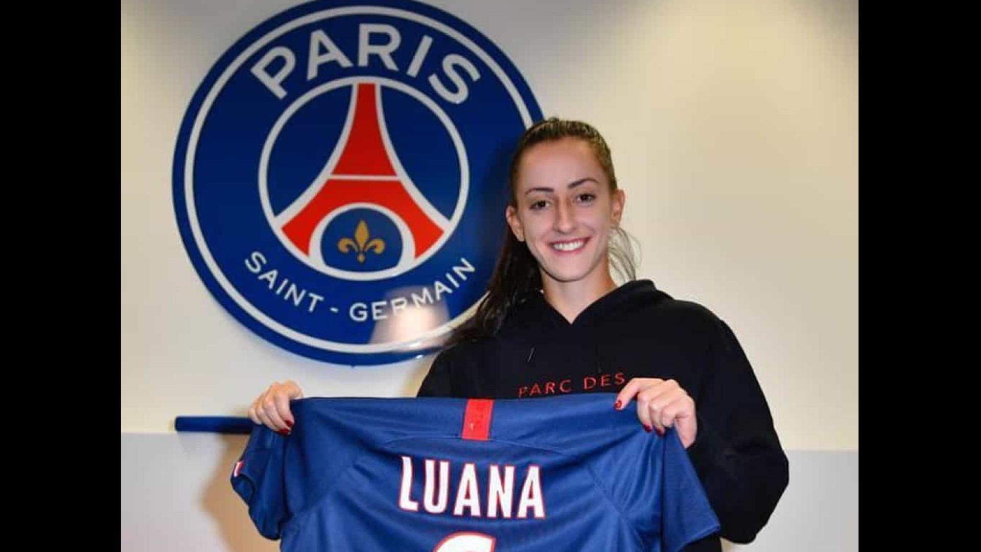 Brasileira Luana é anunciada como reforço do Paris Saint-Germain