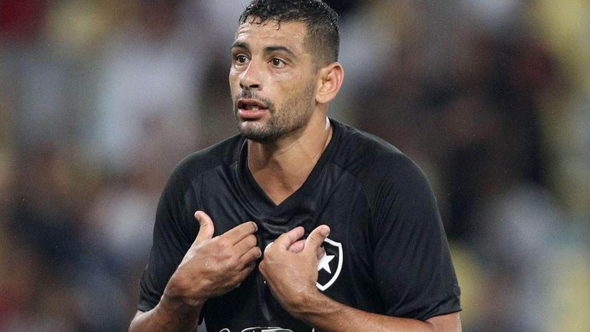 Botafogo e Diego Souza chegam a acordo para a rescisão de contrato