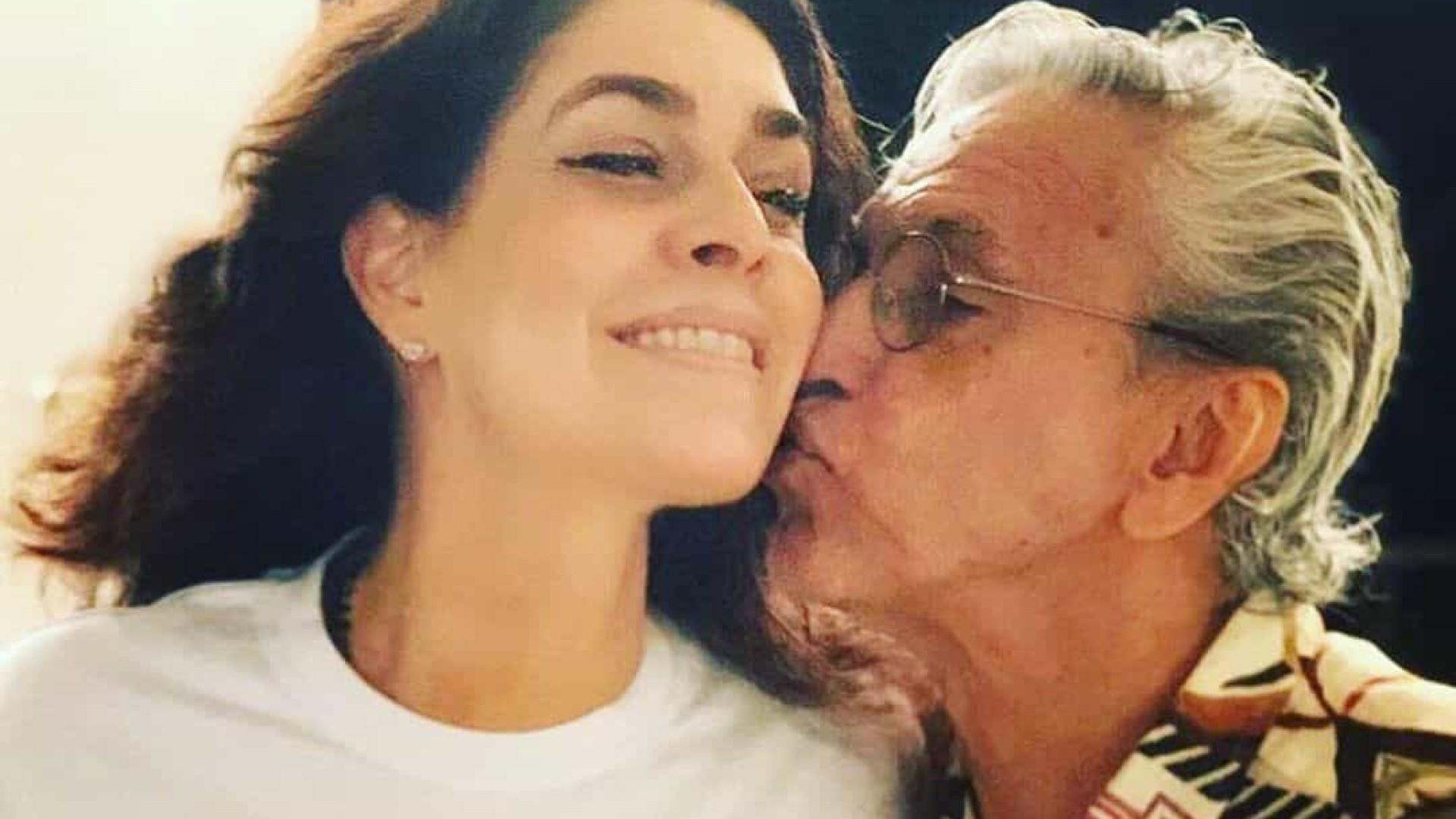 Paula Lavigne e Caetano Veloso serão avós