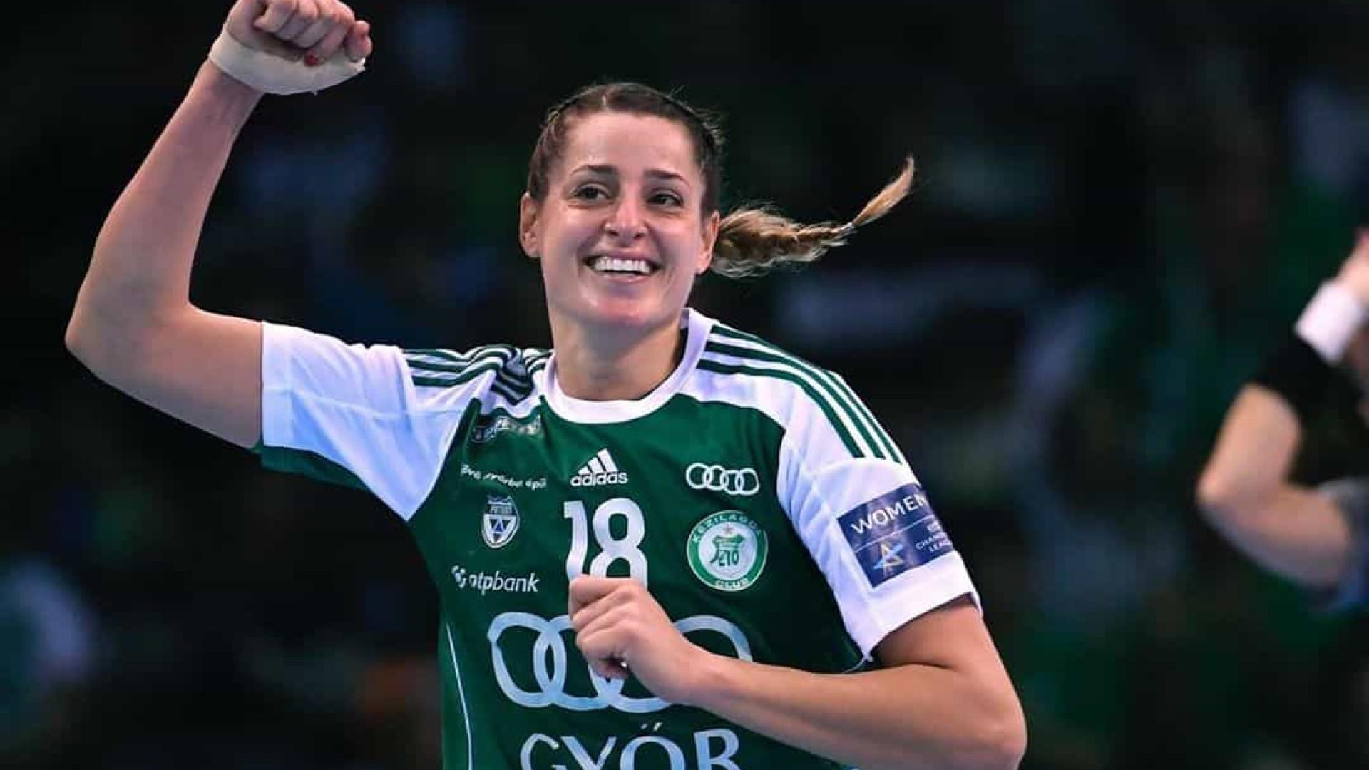 Duda Amorim é eleita a melhor jogadora de handebol da Europa em 2019