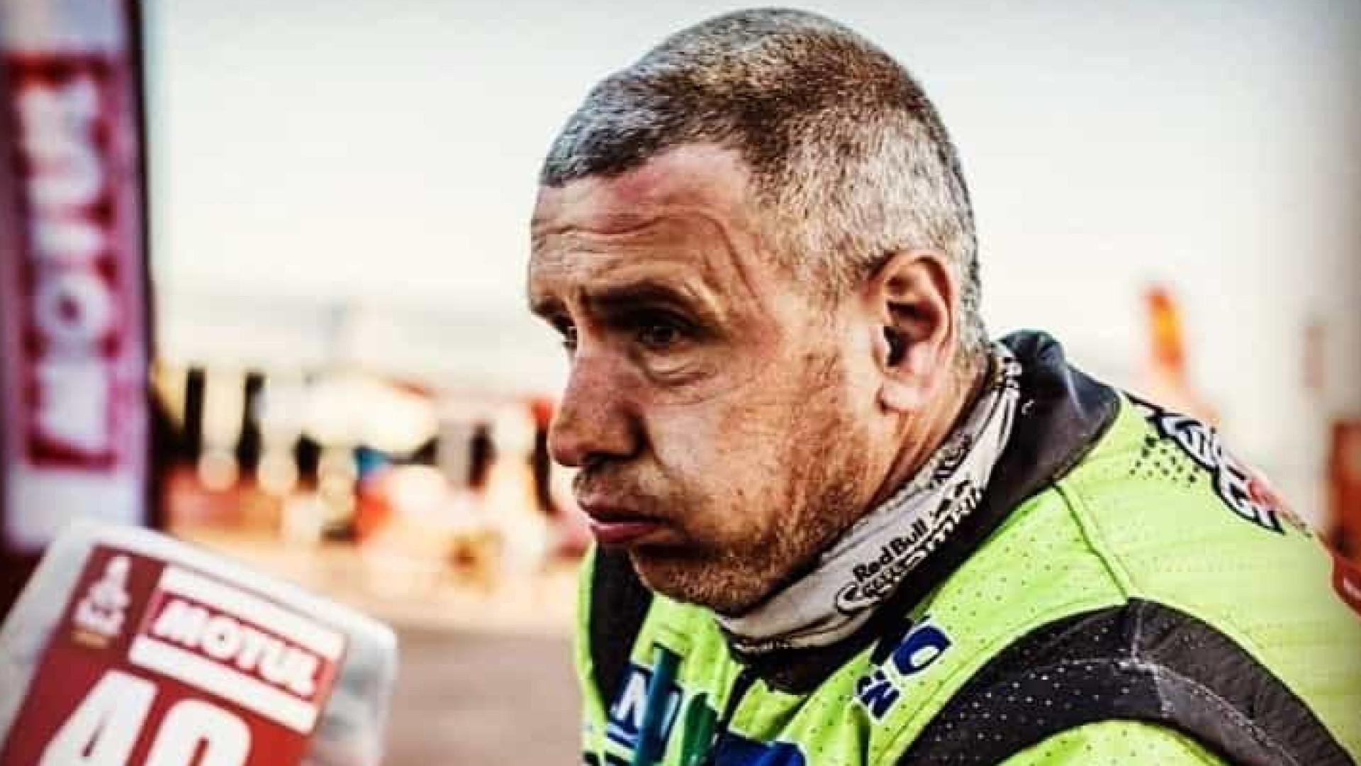 Uma semana após acidente no Dakar, Edwin Straver morre aos 48 anos
