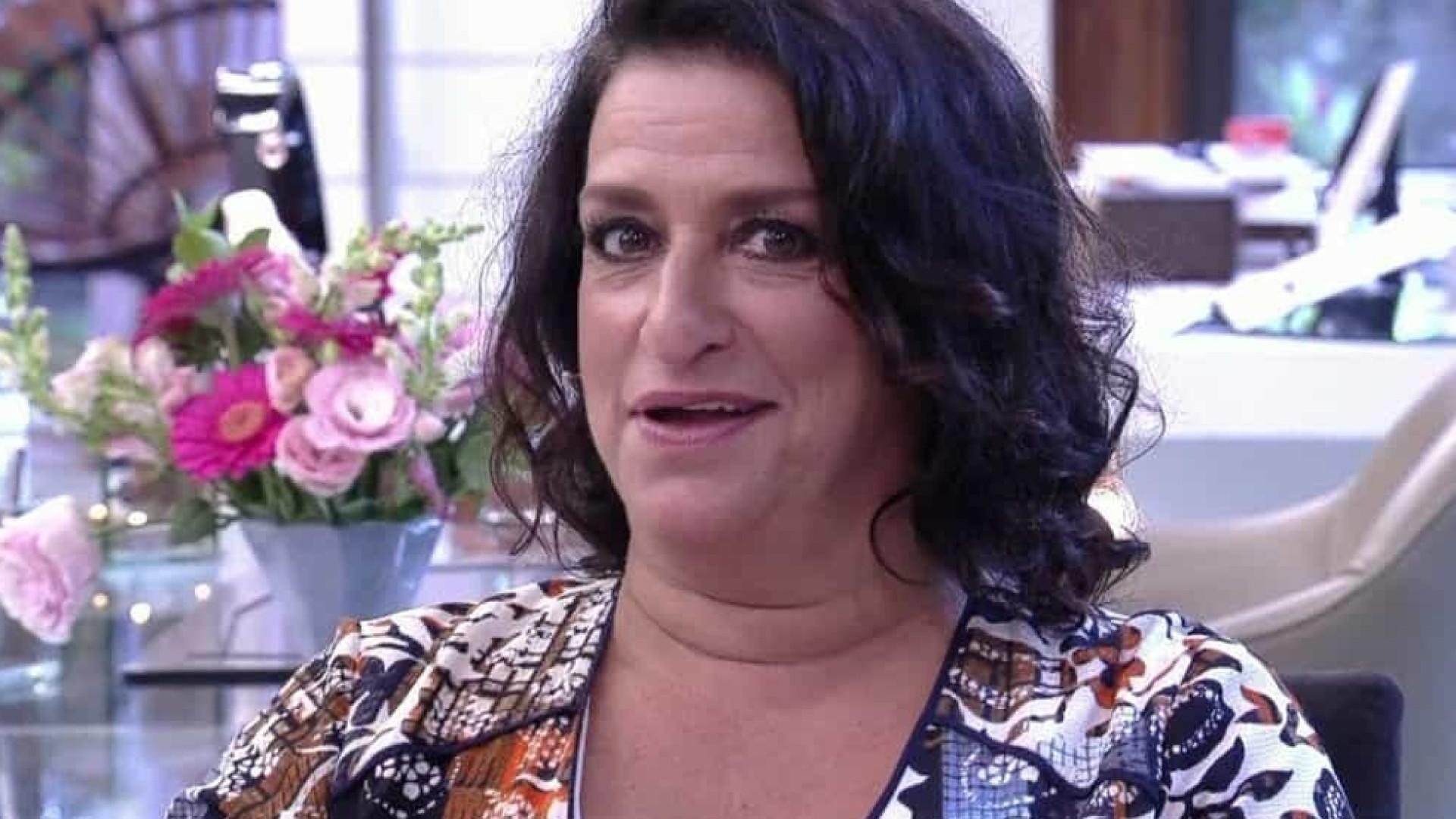 Grace Gianoukas quer adotar galinhas de 'Salve-se Quem Puder'