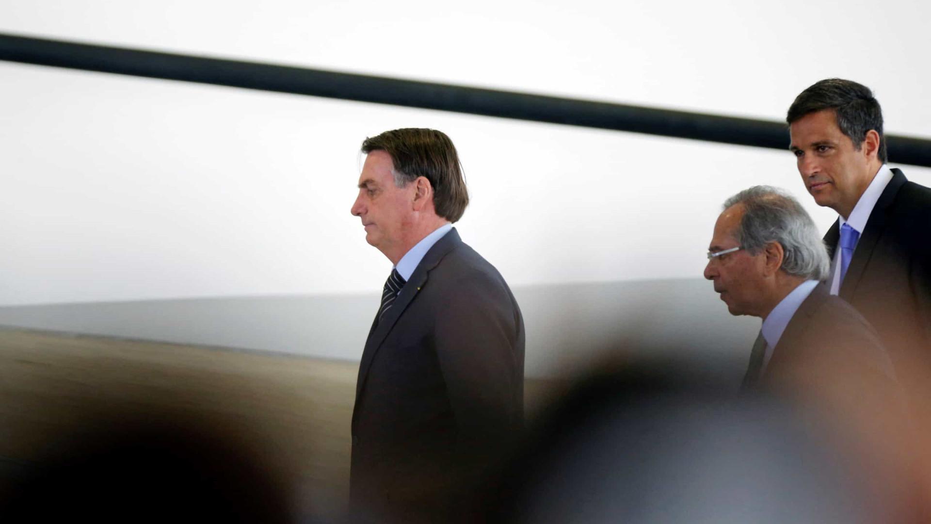 Bolsonaro está reunido com presidente do BC no Palácio do Planalto