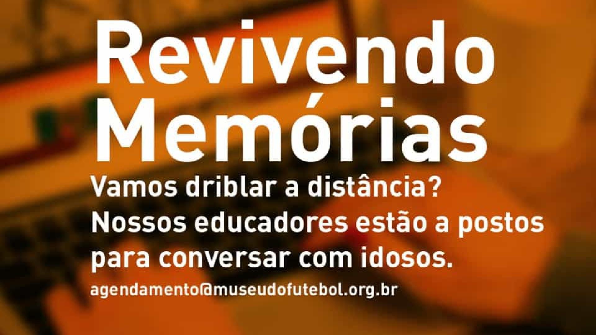 Museu do Futebol cria projeto virtual para minimizar solidão de idosos