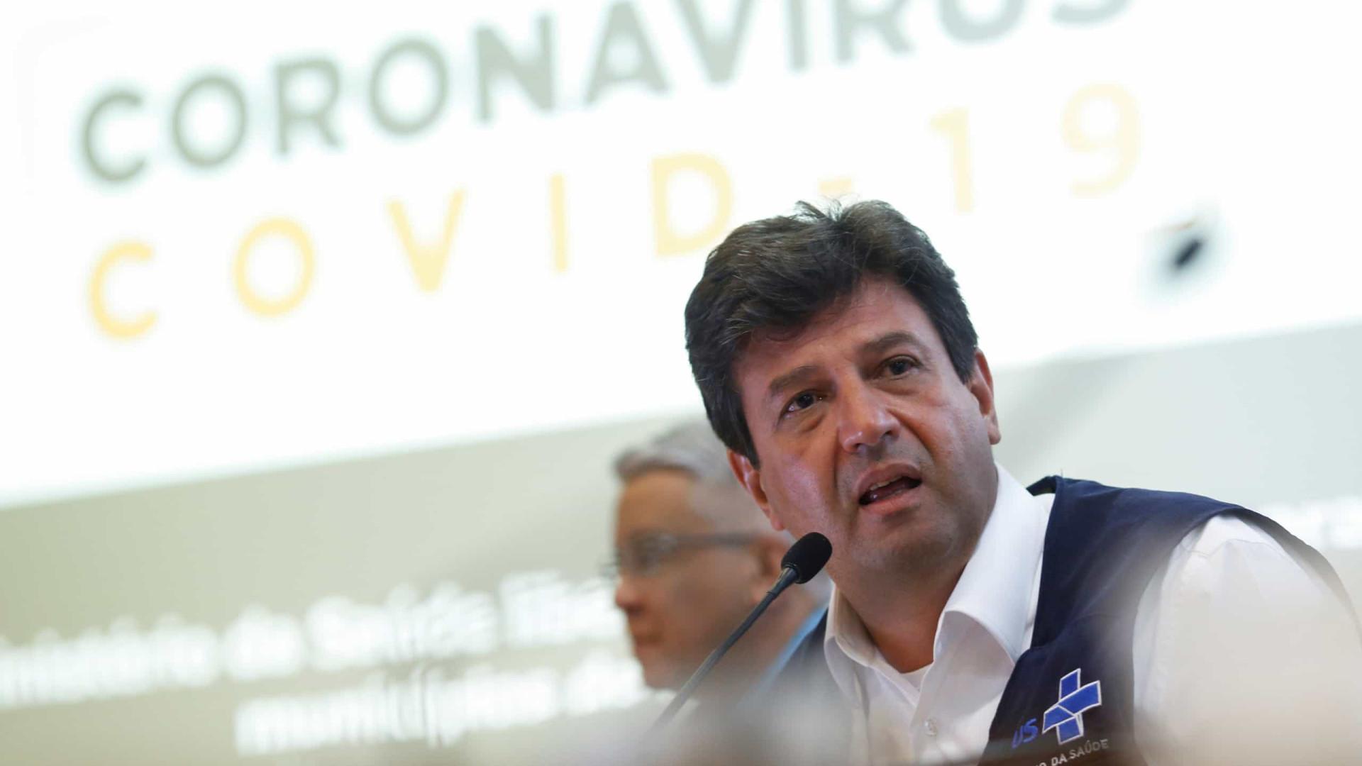 Brasil não está pronto para escalada de casos nas cidades, diz Mandetta