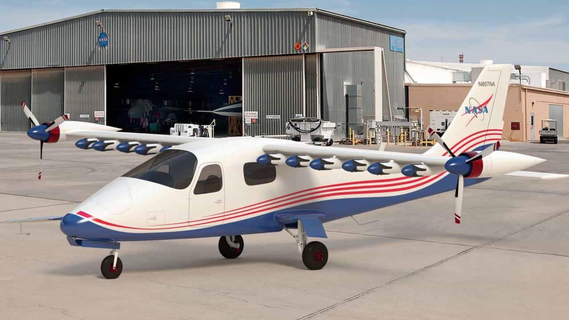 NASA desenvolve avião elétrico experimental