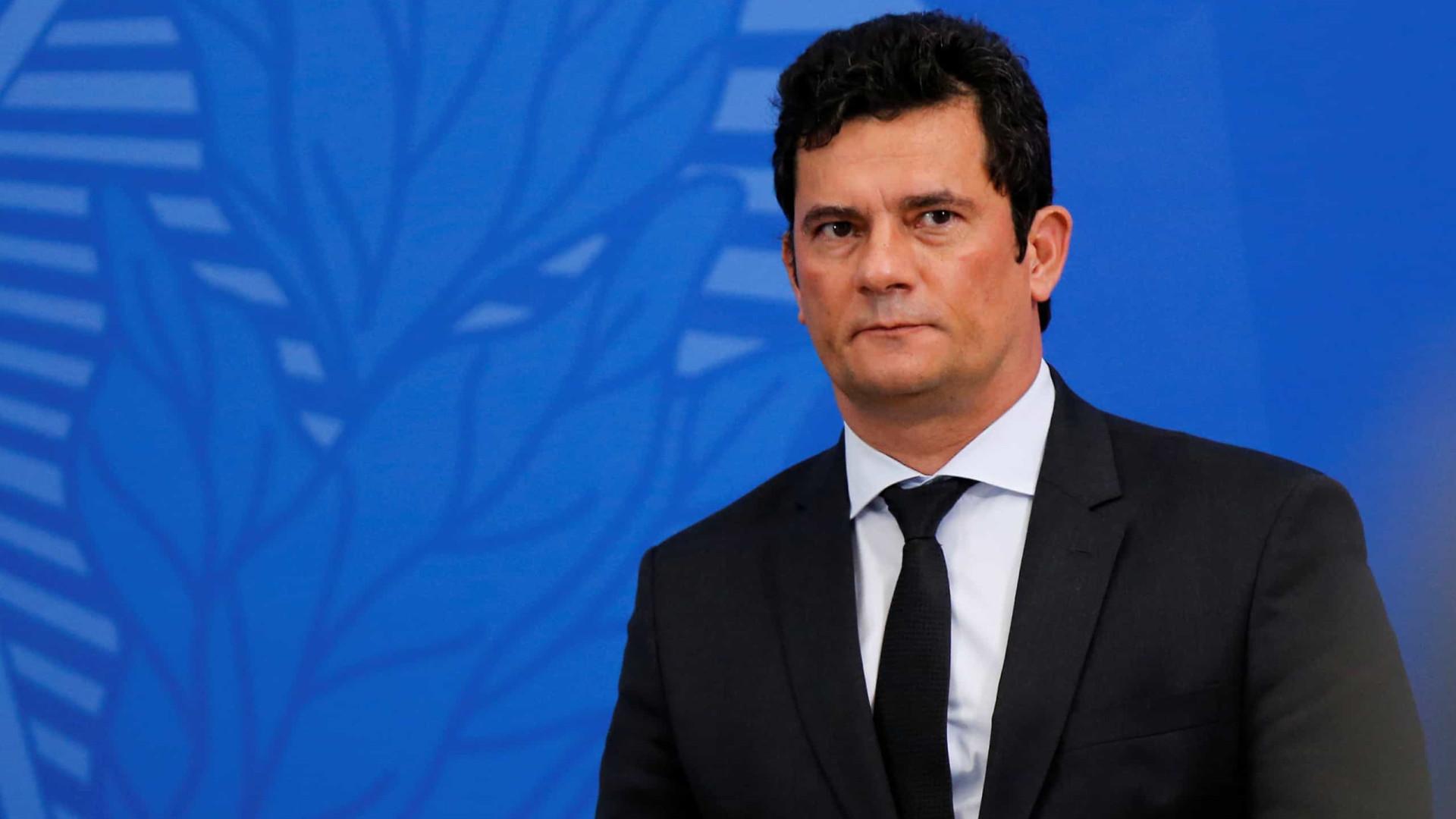 Sergio Moro, o juiz da Lava Jato, anuncia sua demissão do governo