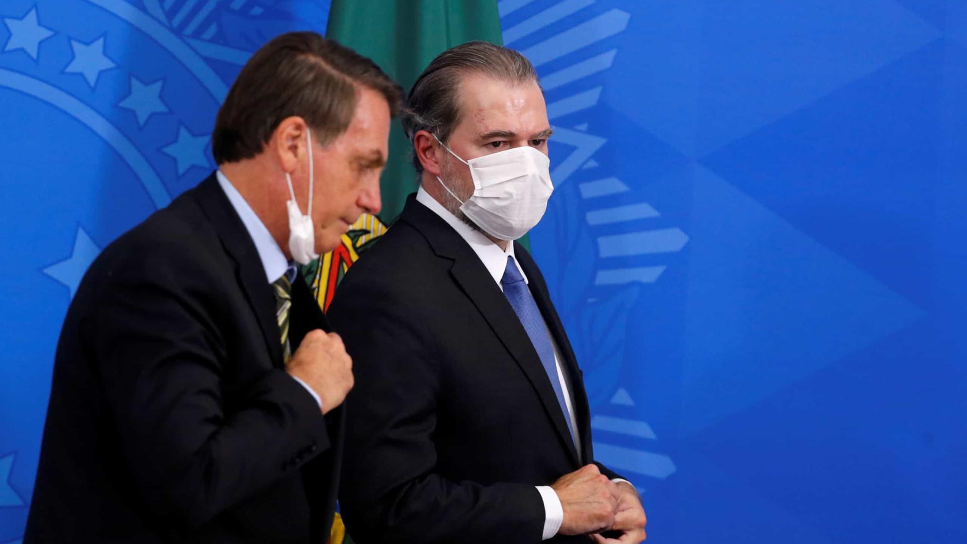 Bolsonaro e empresários vão ao STF para pressionar fim do isolamento