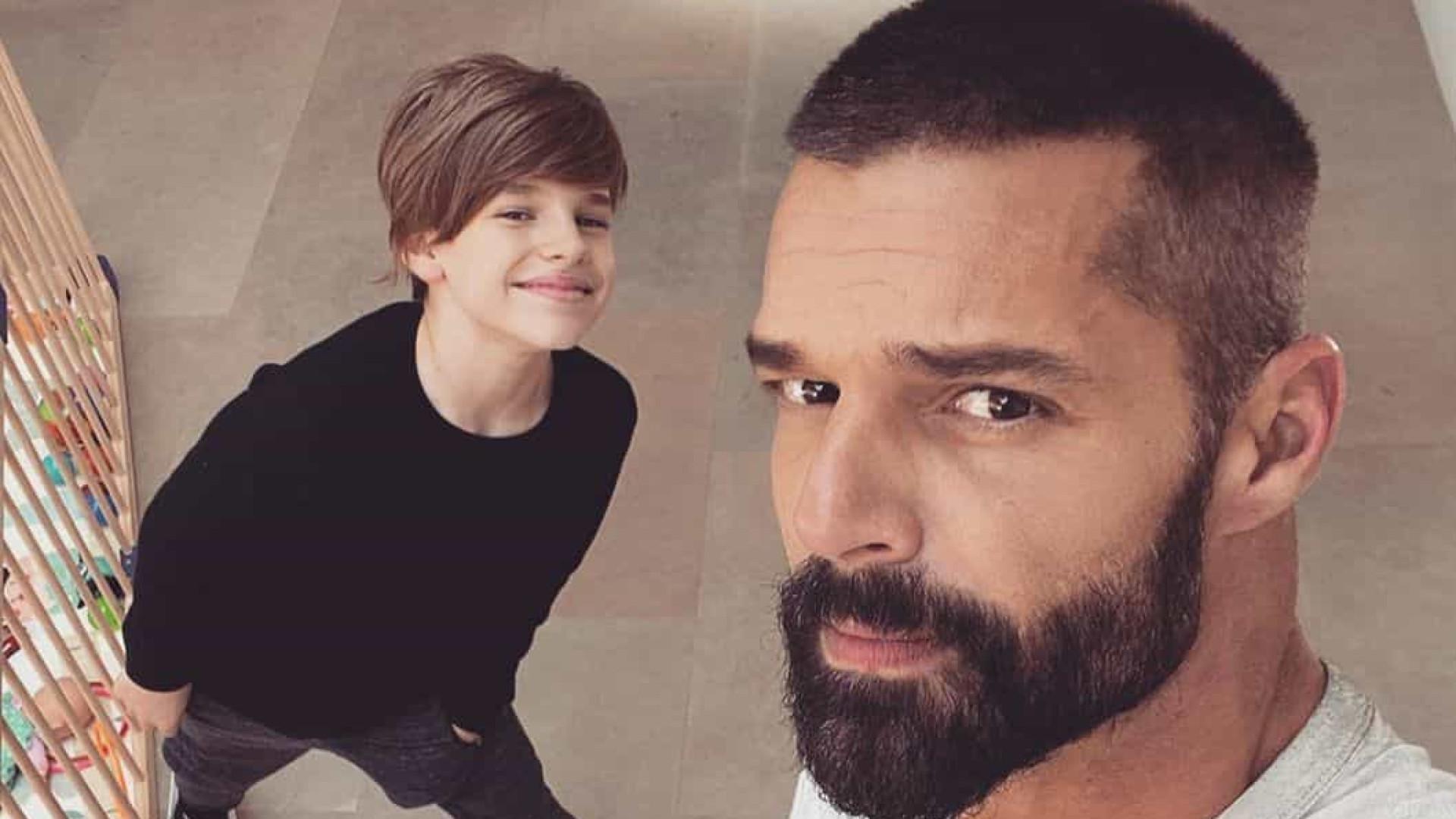 Ricky Martin fala sobre depressão na quarentena