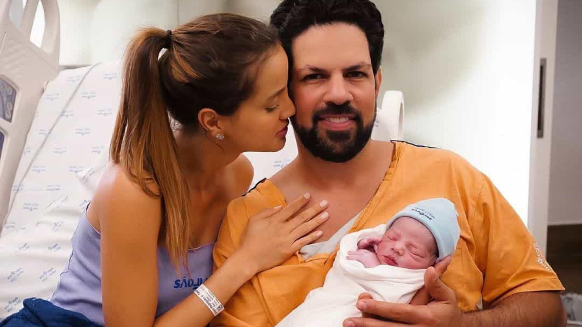 Nasce primeiro filho de Sorocaba e Biah Rodrigues
