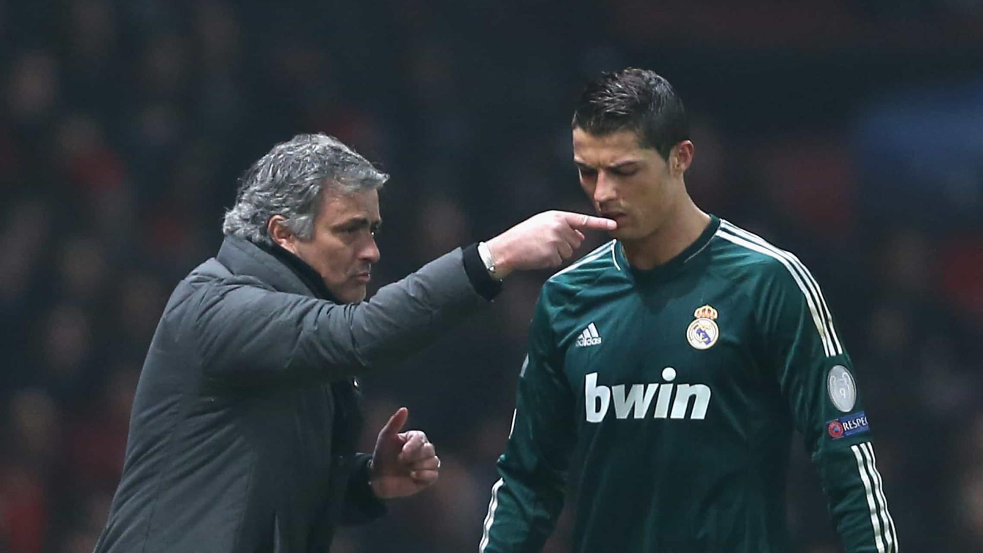Modric revela briga entre CR7 e José Mourinho no Real Madri