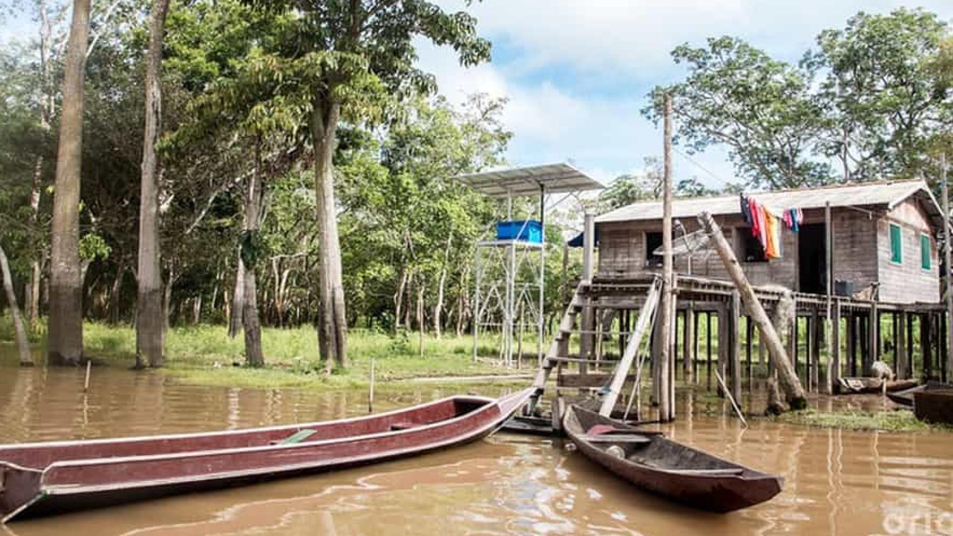 Medo do vírus e perdas da quarentena acuam ribeirinhos no Amazonas