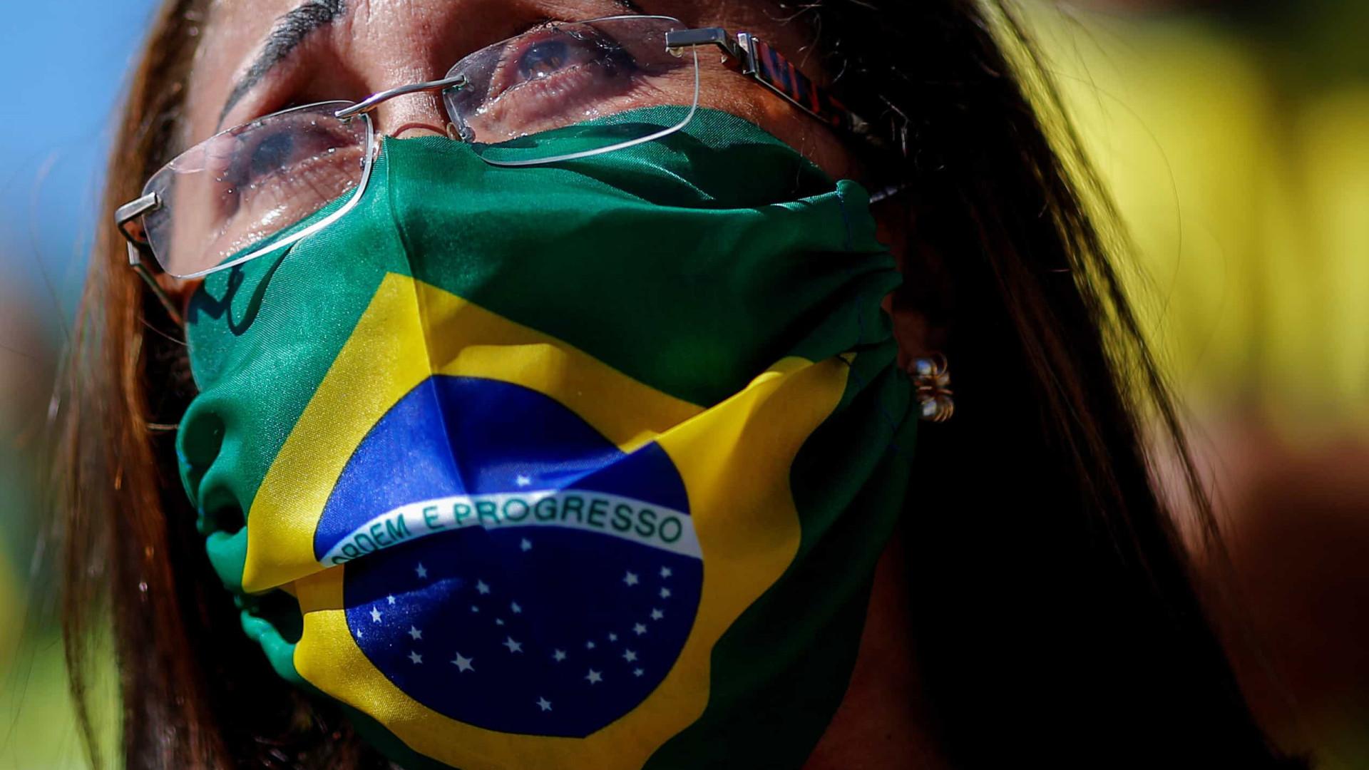 Brasil ultrapassa as 80 mil mortes, com 632 óbitos nas últimas 24 horas
