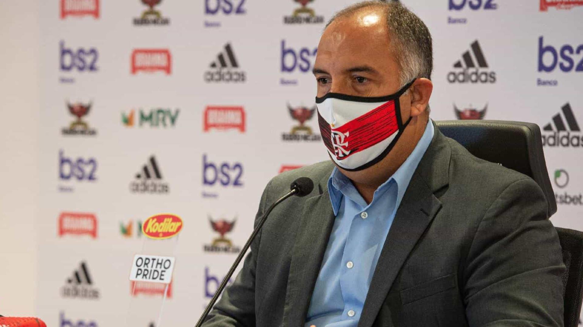 Vice do Flamengo embarca a Lisboa em busca de técnico estrangeiro