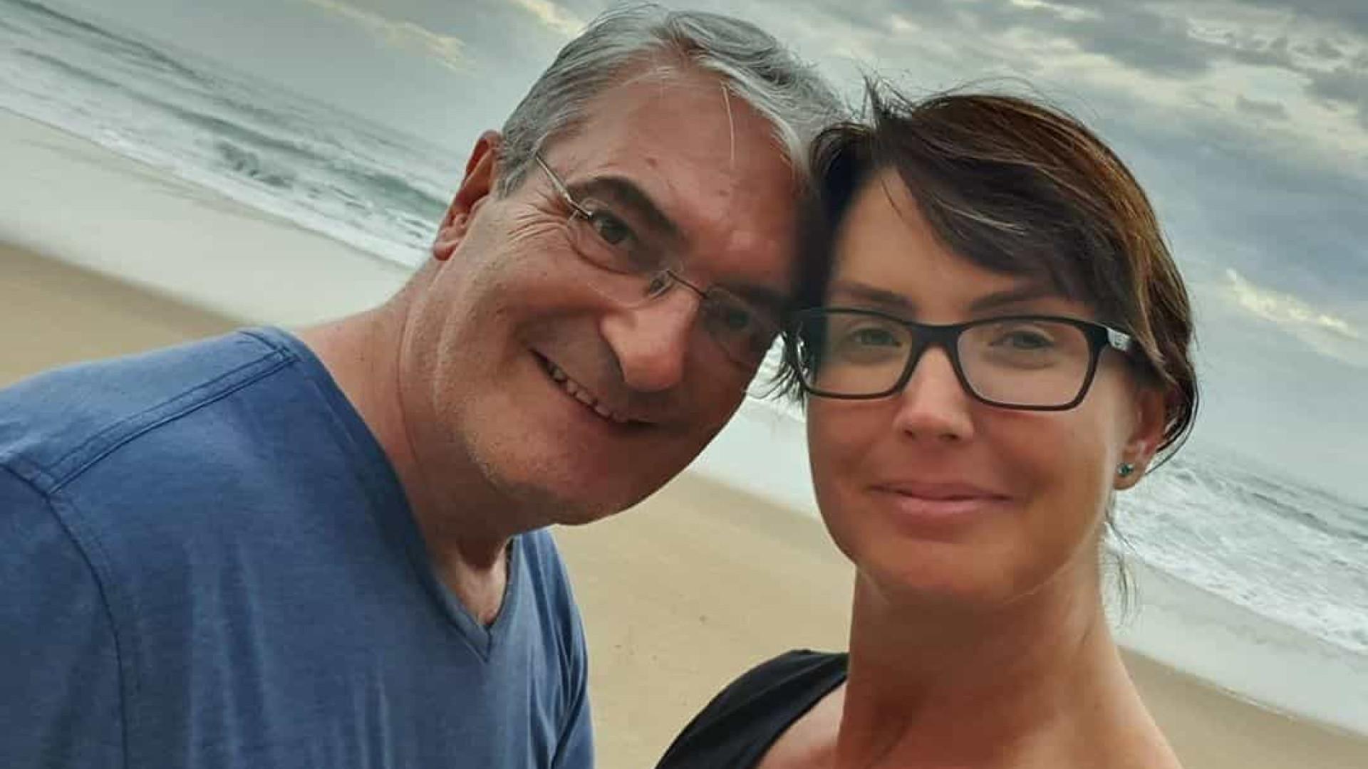 Marido de Alessandra Scatena morre aos 56 anos por Covid-19