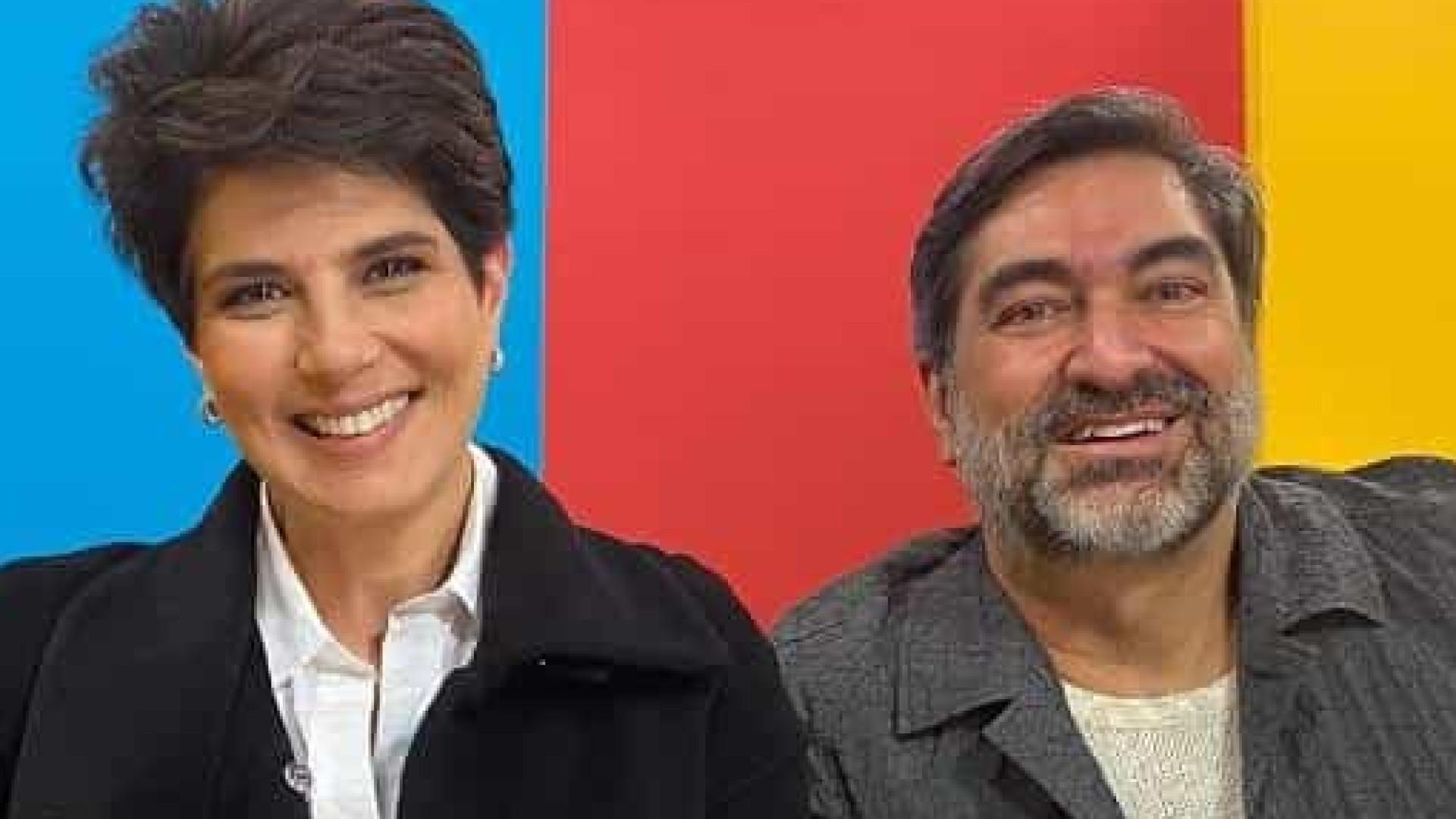 Mariana e Zeca Camargo têm programa adiado em ao menos uma semana