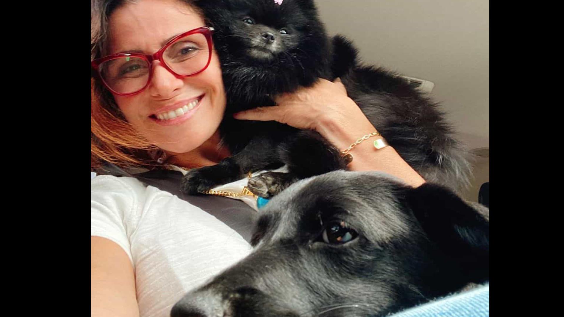 Atriz Giovanna Antonelli adota cachorrinha