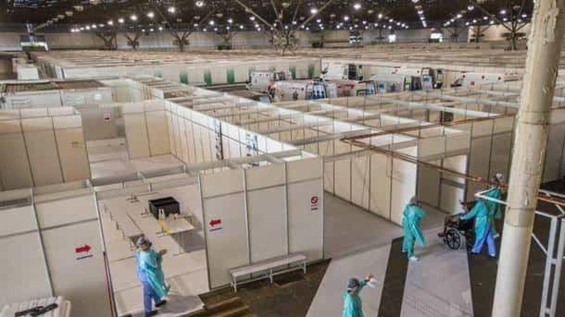 Prefeitura desativa ala de hospital de campanha do Anhembi em SP