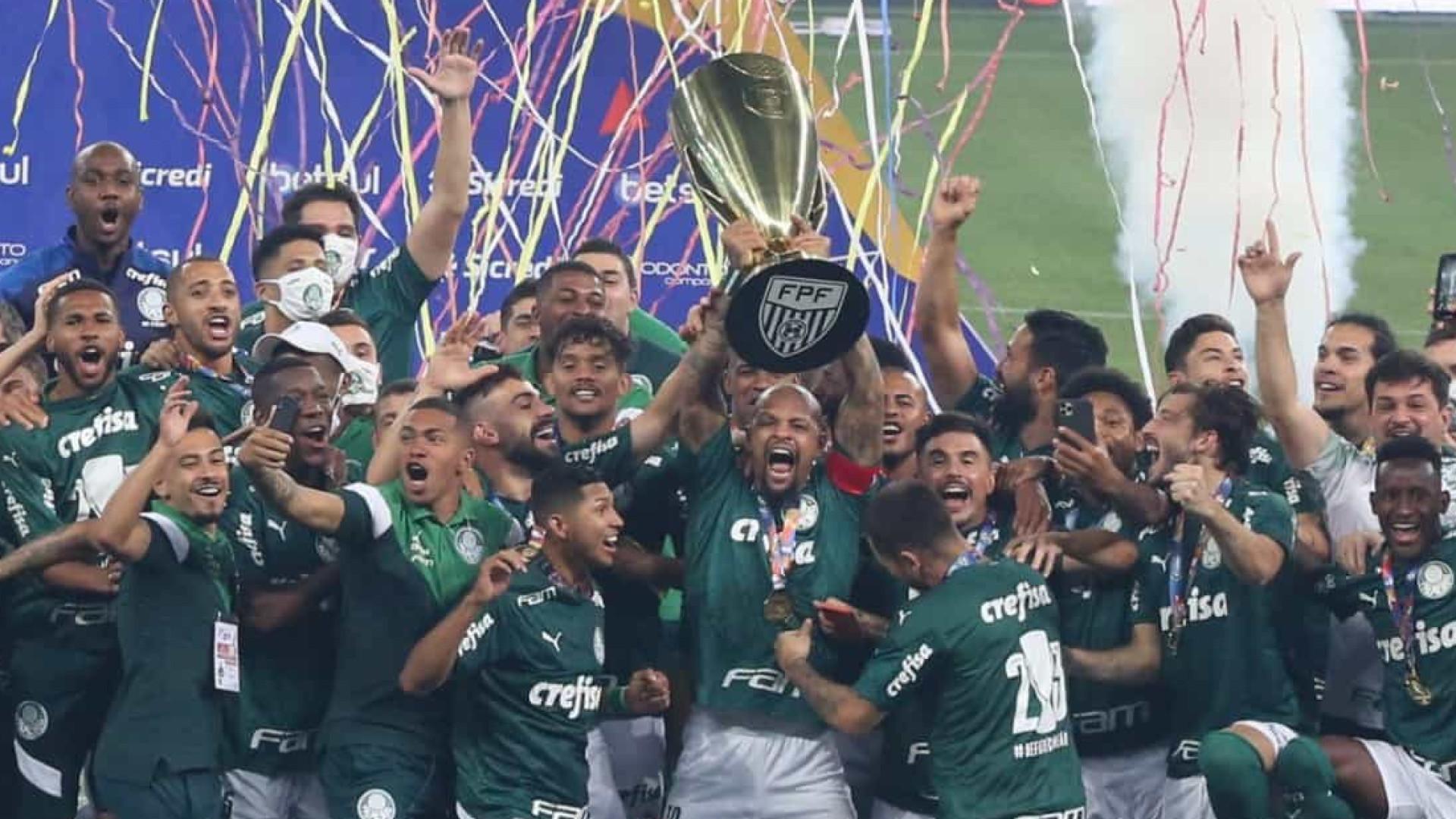 Palmeiras vence Corinthians nos pênaltis e é campeão paulista