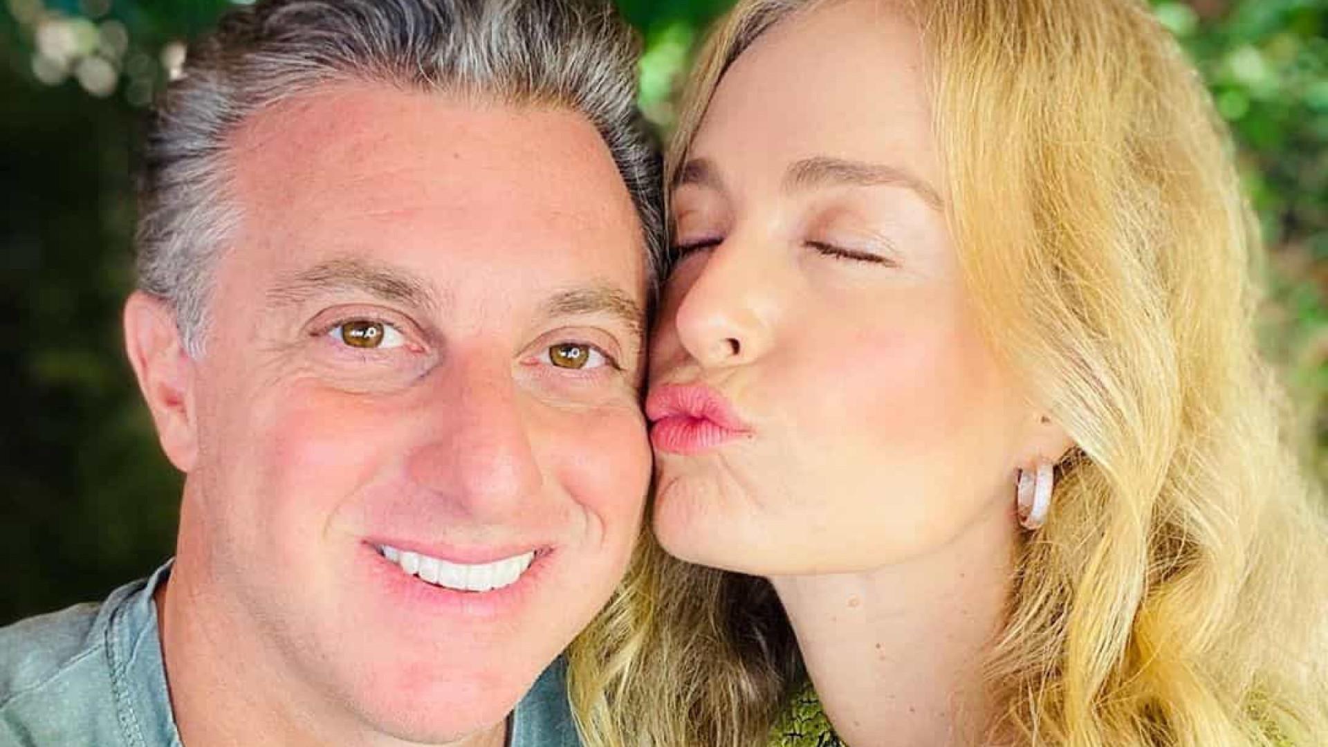 Angélica faz homenagem a Luciano Huck no seu aniversário