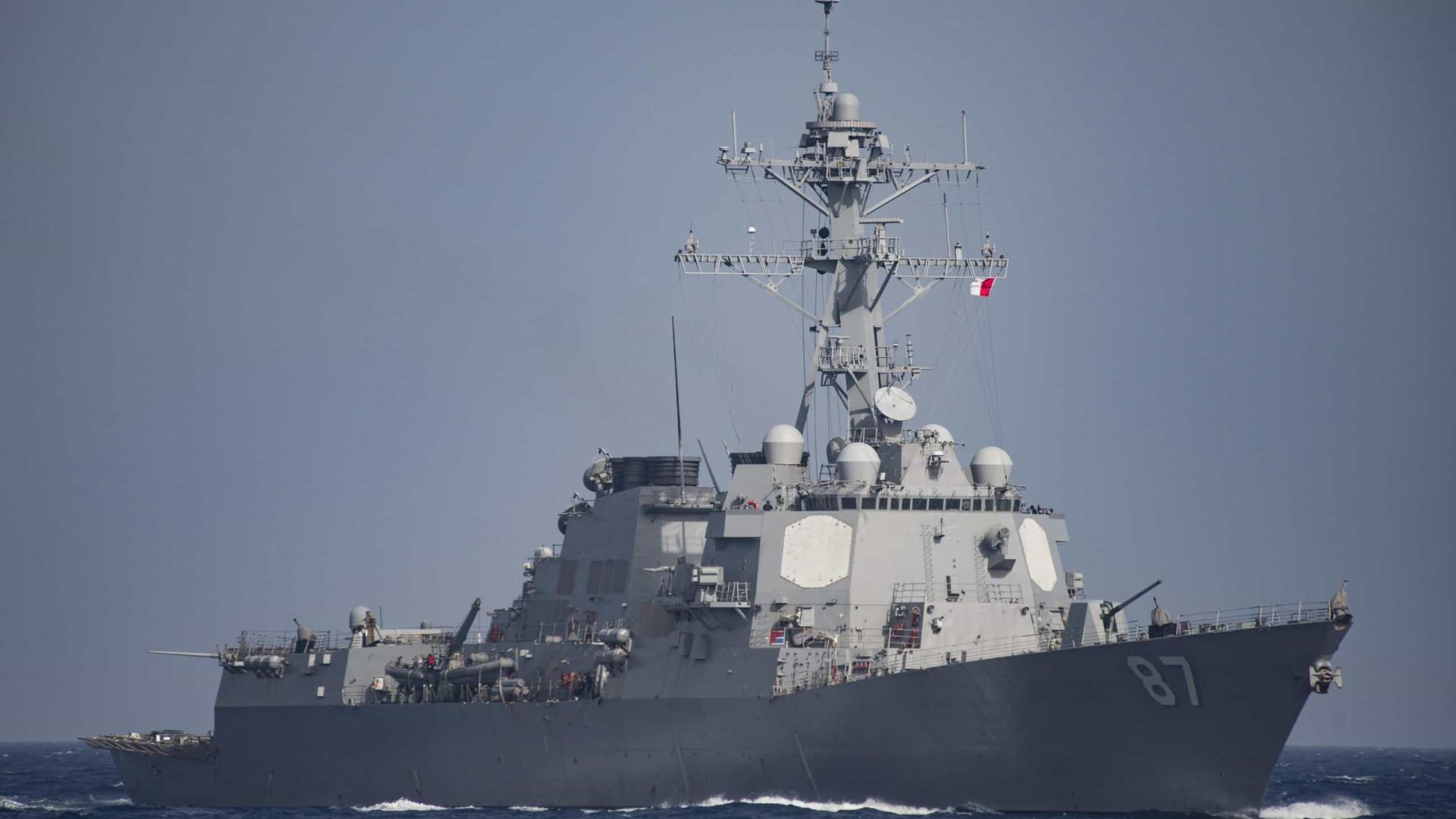 Sem aviso, Marinha dos EUA entra em águas declaradas como da Venezuela