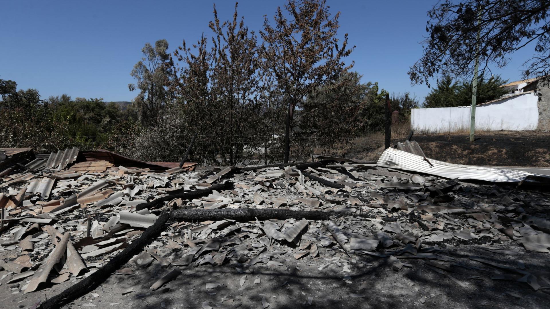 Incêndio no sul de Portugal está 'controlado', garante Proteção Civil