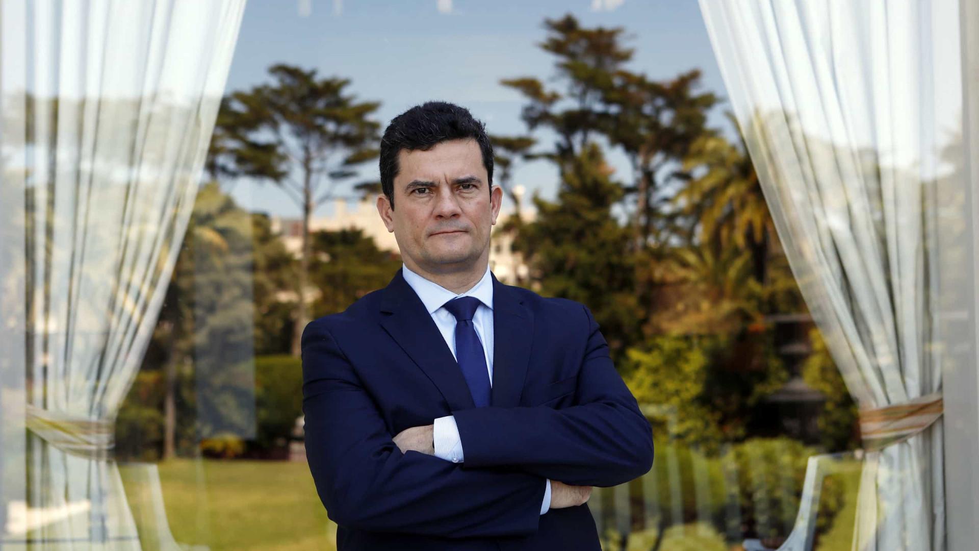 Sergio Moro diz que abandona Governo caso se provem irregularidades