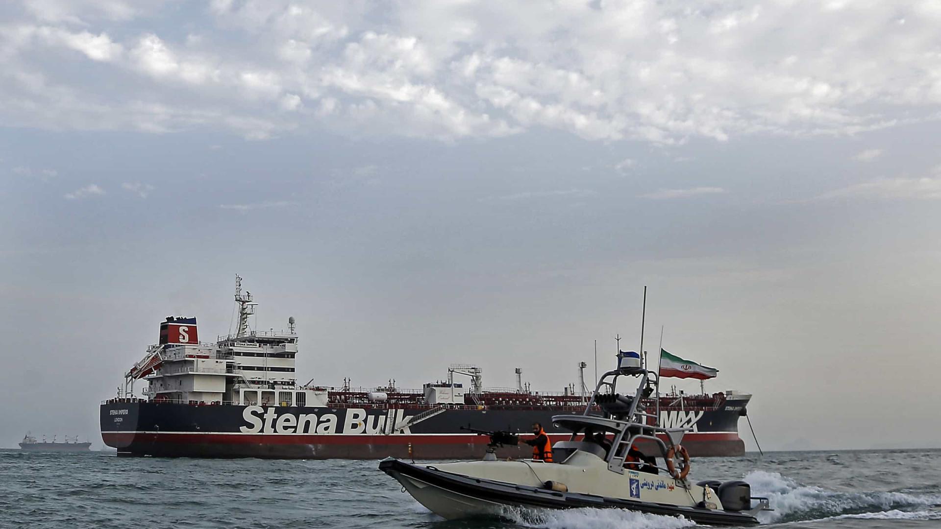 Irã ordena libertação de petroleiro britânico 'Stena Impero'