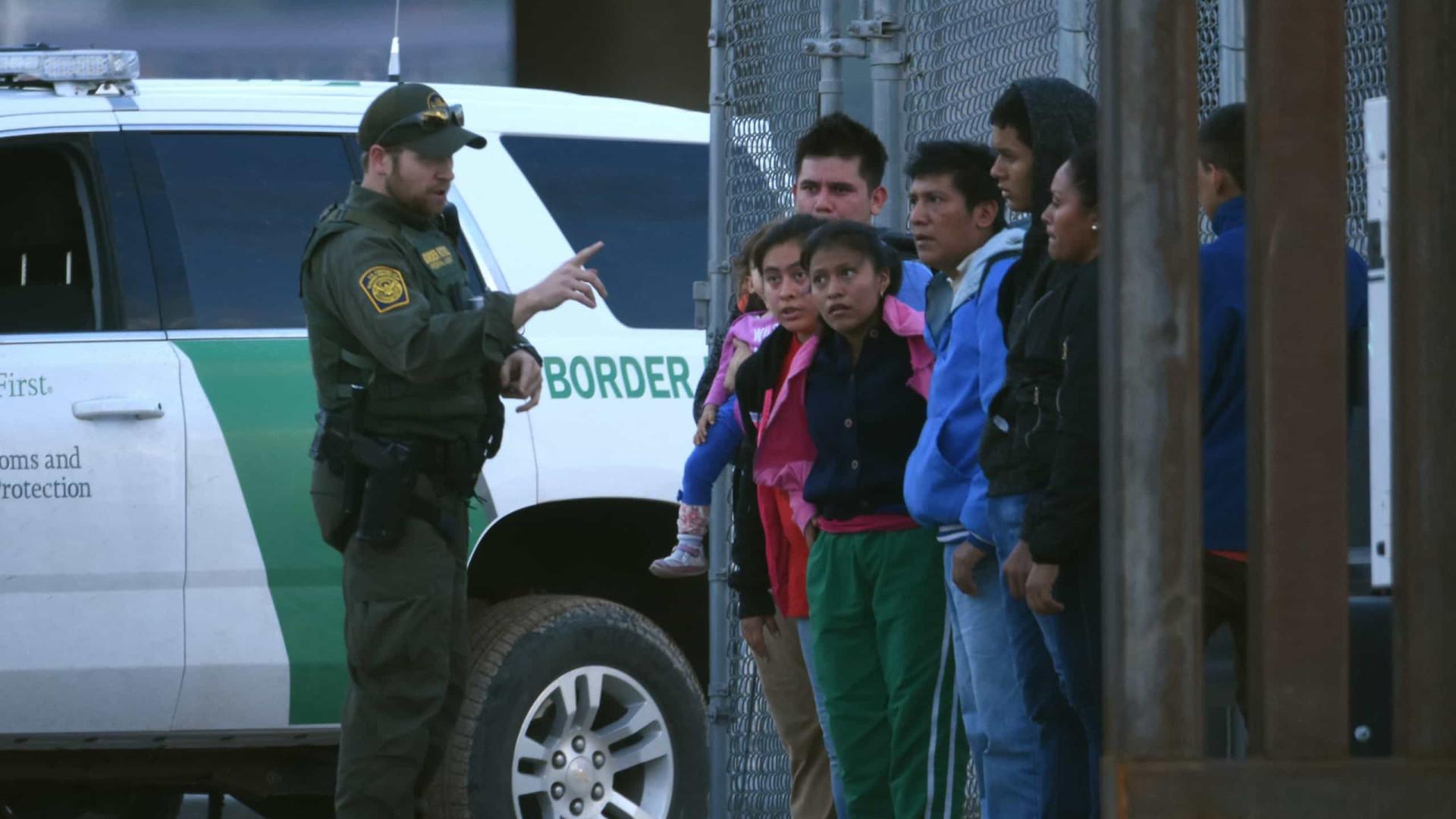 EUA detiveram um milhão de imigrantes ilegais em 2019