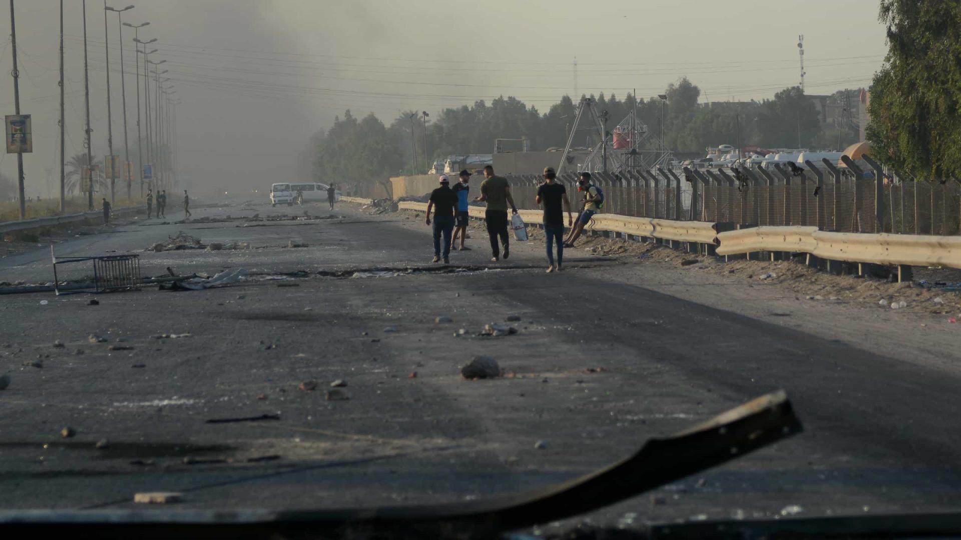 Sobe para 93 o número de mortos em manifestações no Iraque