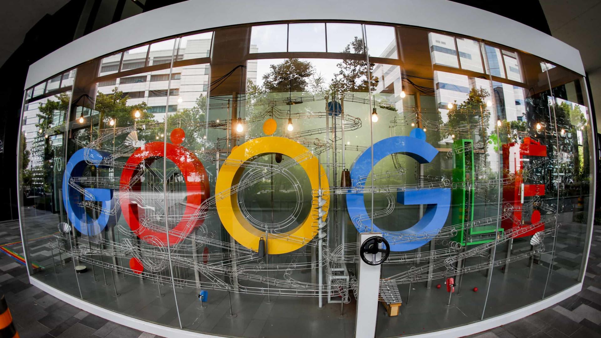 Google multada em 150 milhões por abuso de posição dominante