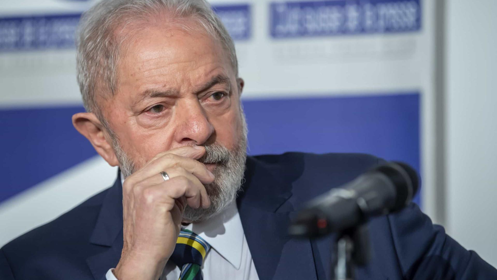 Lula: Bolsonaro inventou o seu contágio para promover a cloroquina