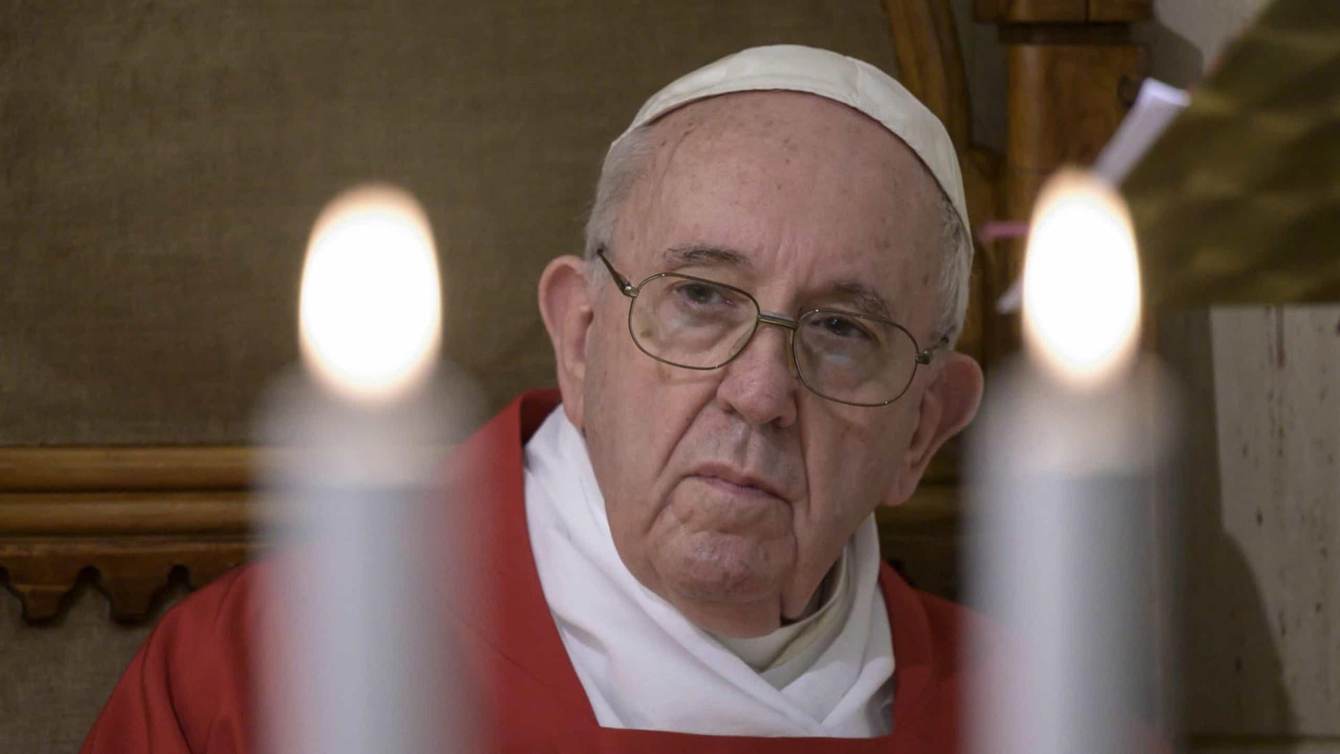 Papa pede respeito pelas regras para garantir segurança nas celebrações
