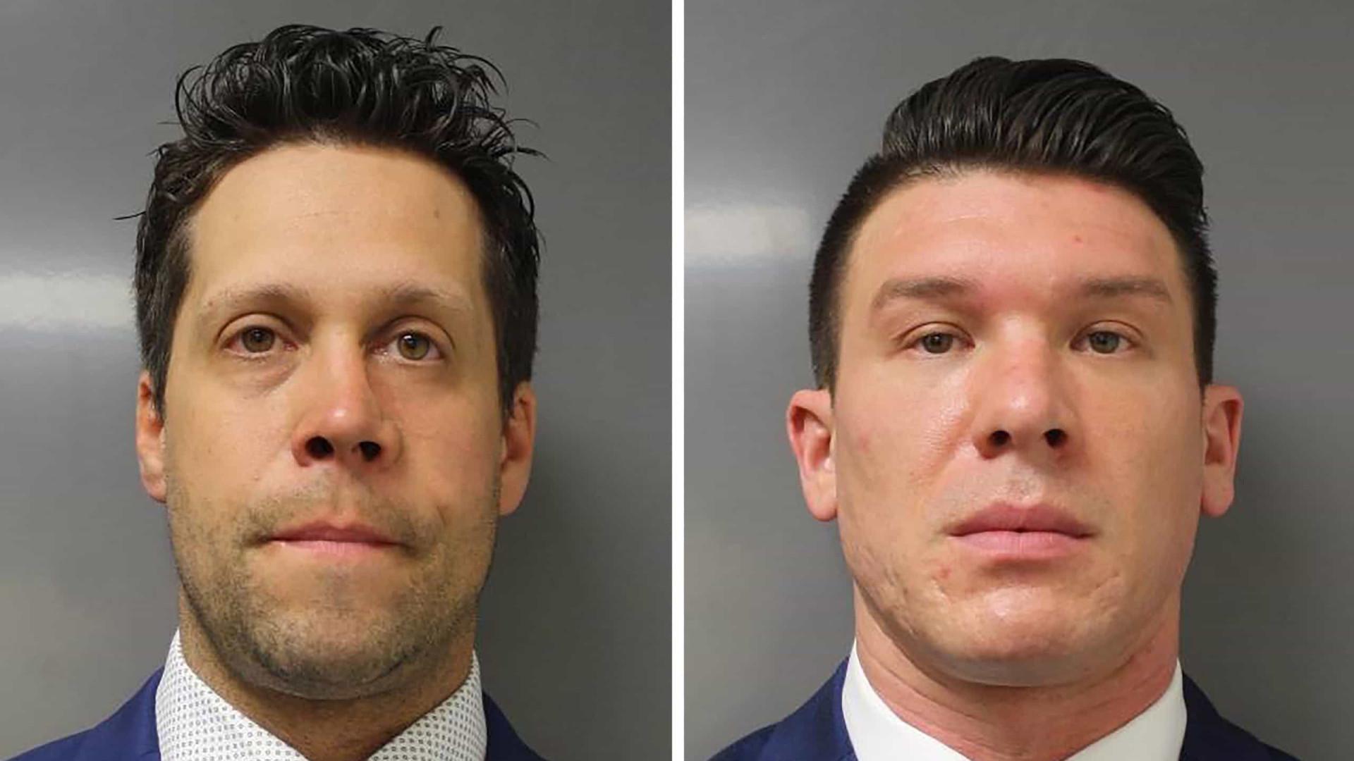 Floyd. Dois polícias acusados de agressão a homem em manifestação