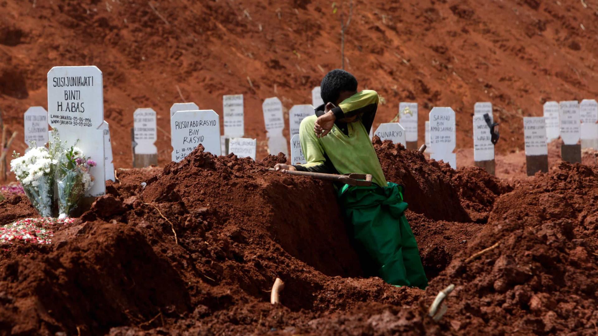 Mais 3.912 mortos e 265.562 novos casos no mundo nas últimas 24 horas