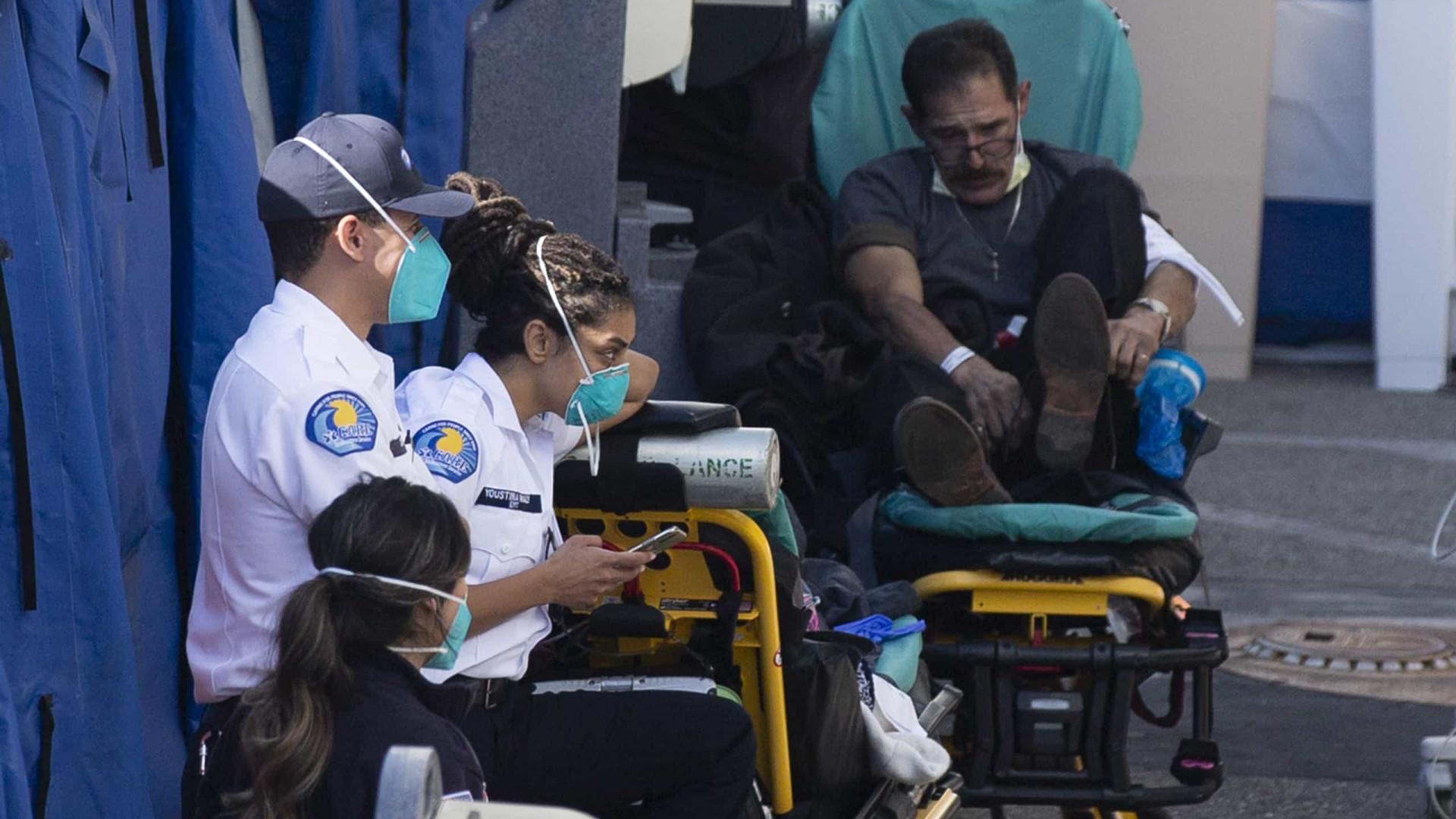 EUA com quase 4.500 mortos num só dia, maior número até hoje