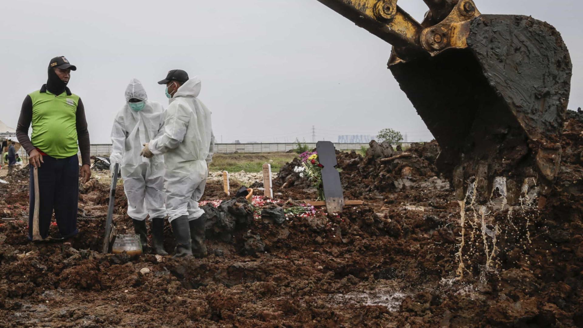 Número de mortes no mundo ultrapassa 4 milhões e infetados os 185 milhões