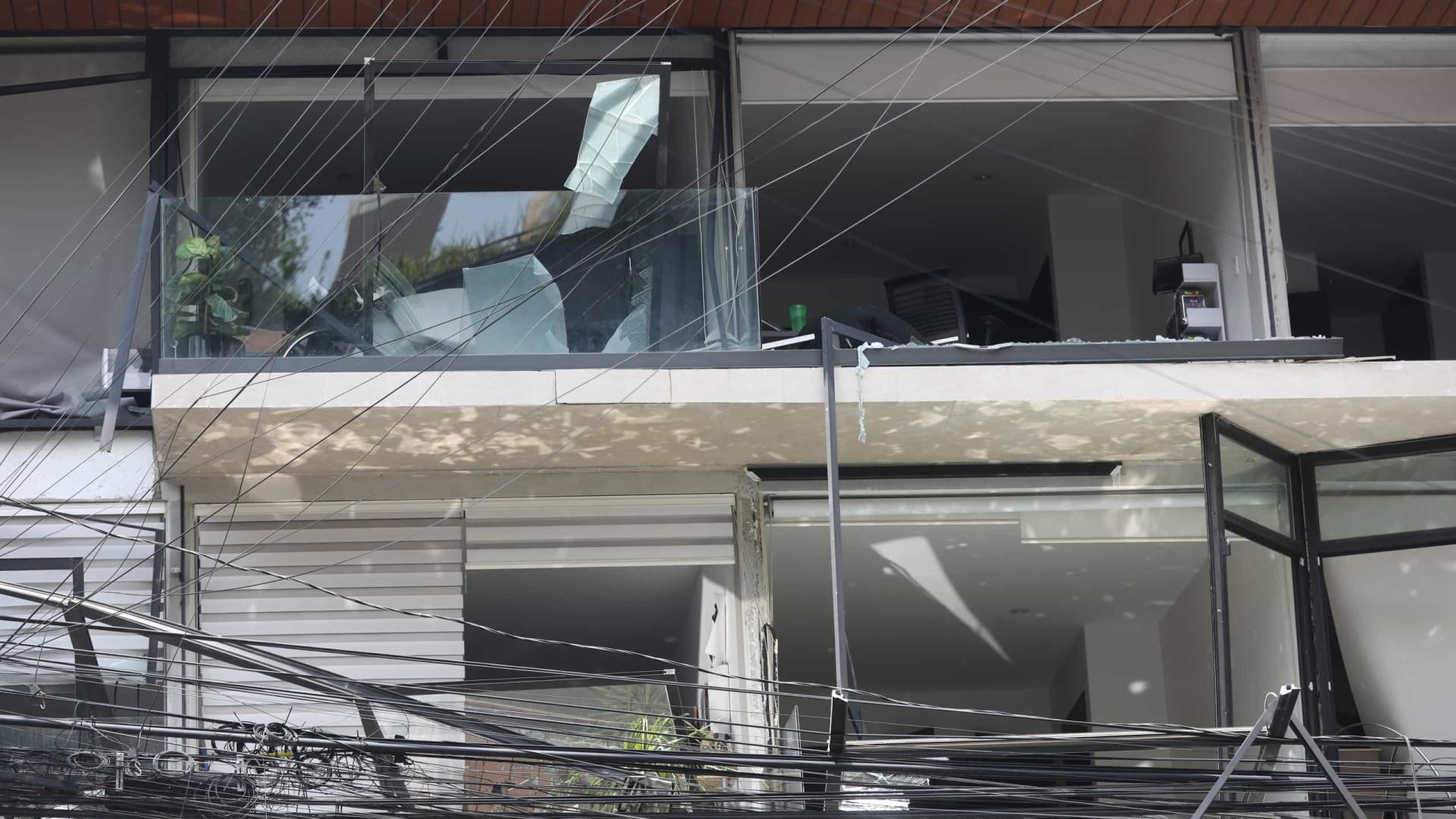 Explosão em edifício no México faz um morto e 29 feridos